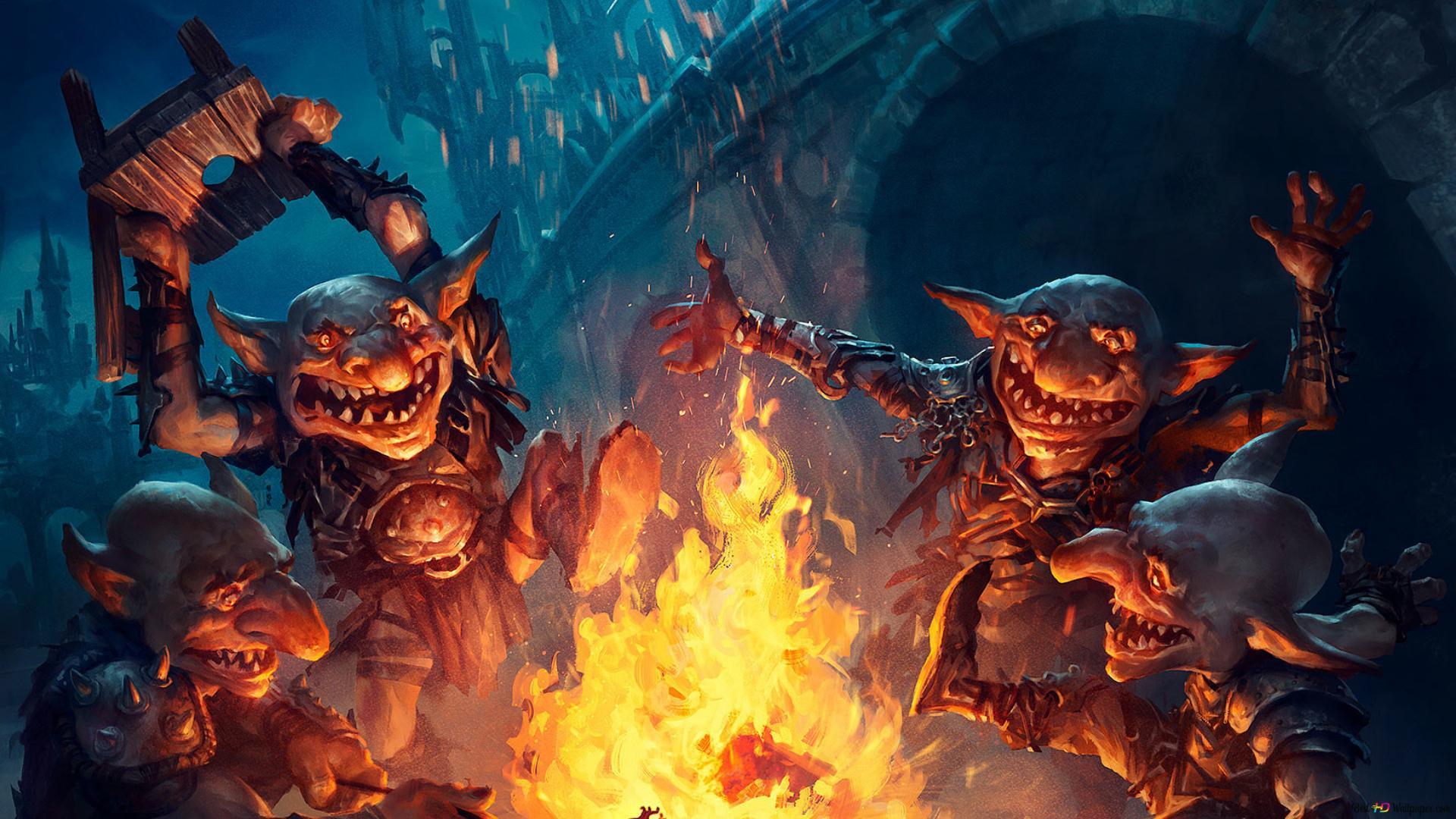 Magic The Gathering Goblin Gathering Hd Wallpaper Download