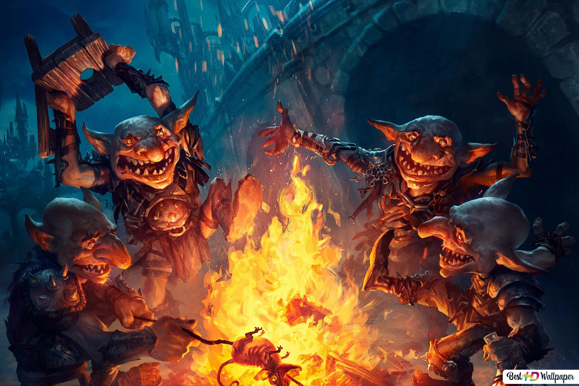 Magic The Gathering Goblin Gathering Hd Wallpaper Download