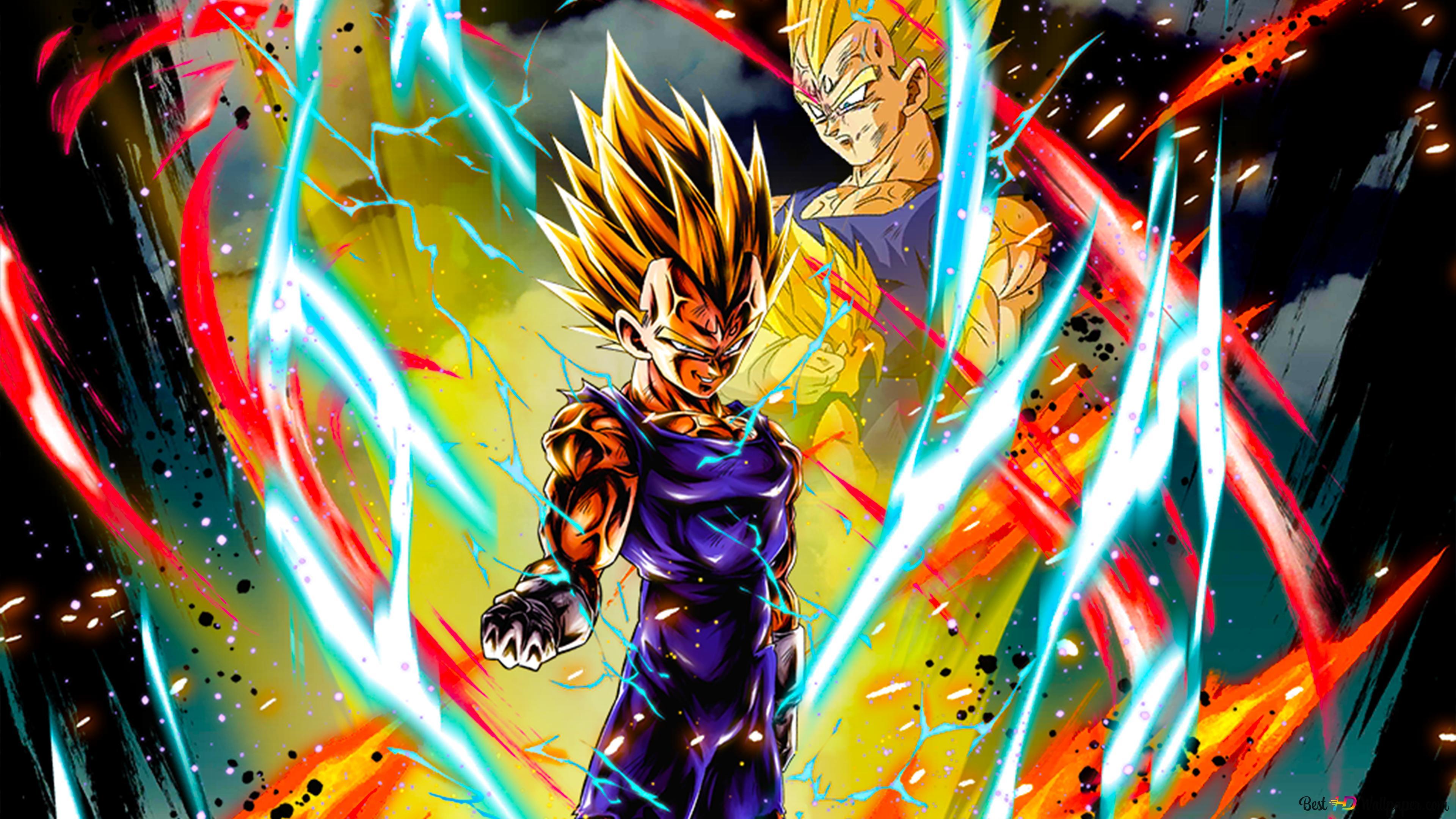 Majin Vegeta Dari Dragon Ball Z Dragon Ball Legends Arts Untuk Desktop Unduhan Wallpaper Hd
