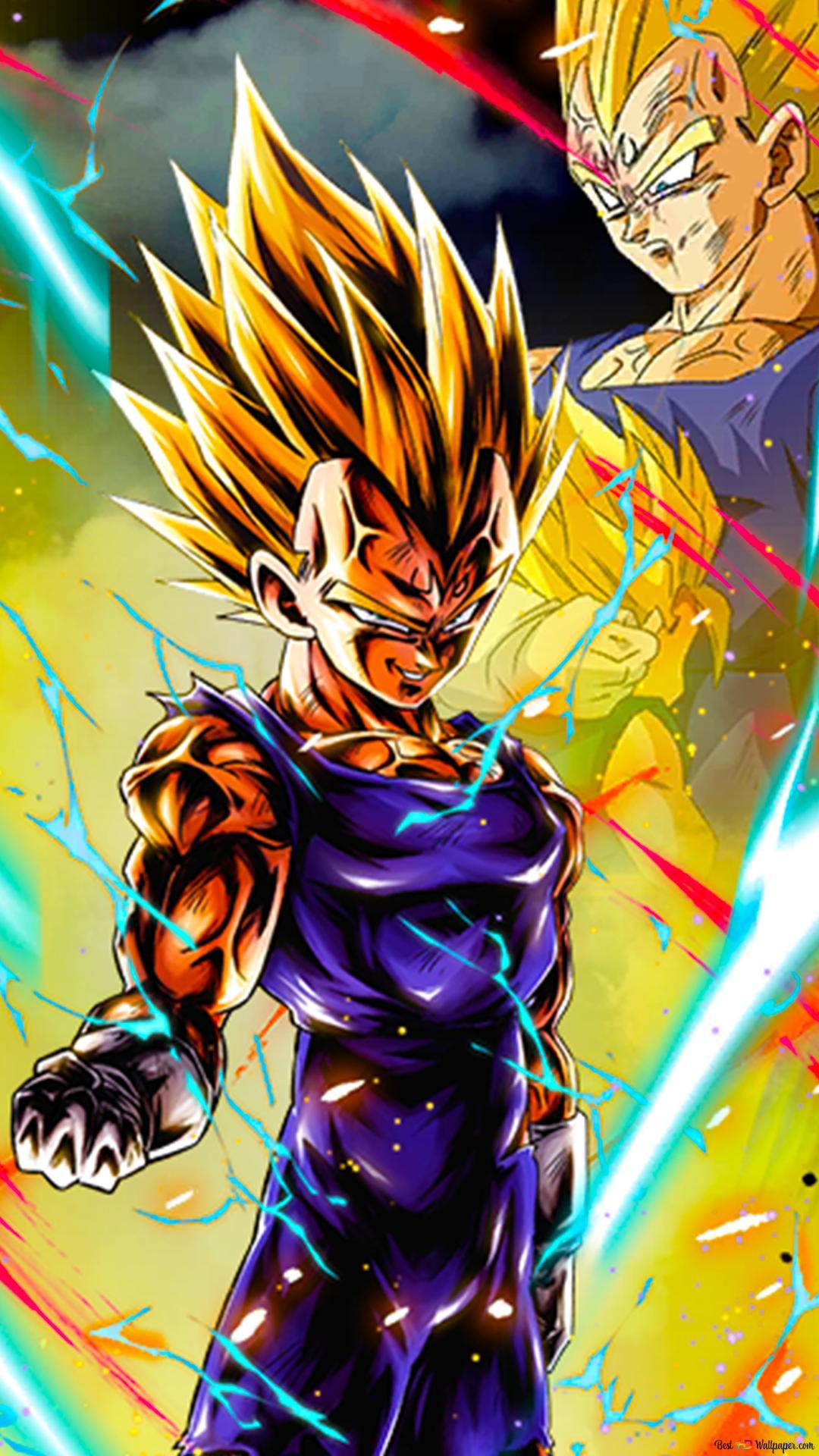 Majin Vegeta From Dragon Ball Z Dragon Ball Legends Arts For Desktop Hd Wallpaper Download