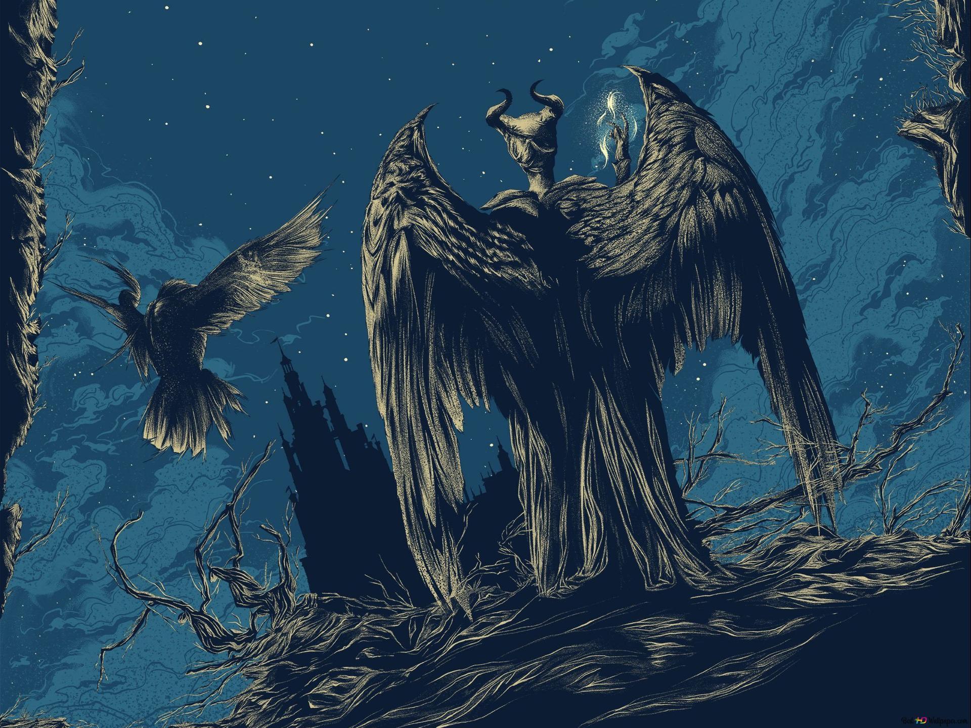 Maleficent Mistress Of Evil 2019 Hd Wallpaper Download