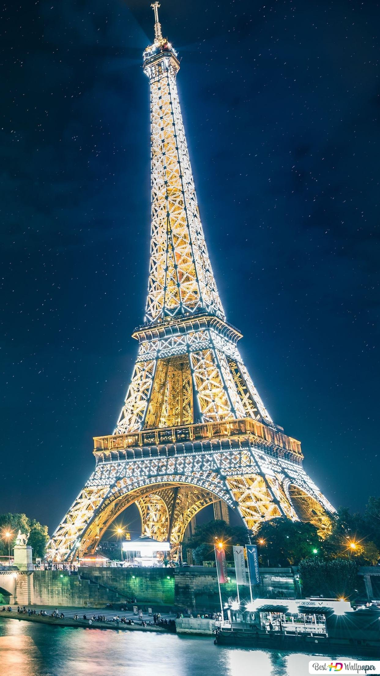 Man Made Eiffel Tower Hd Wallpaper Download