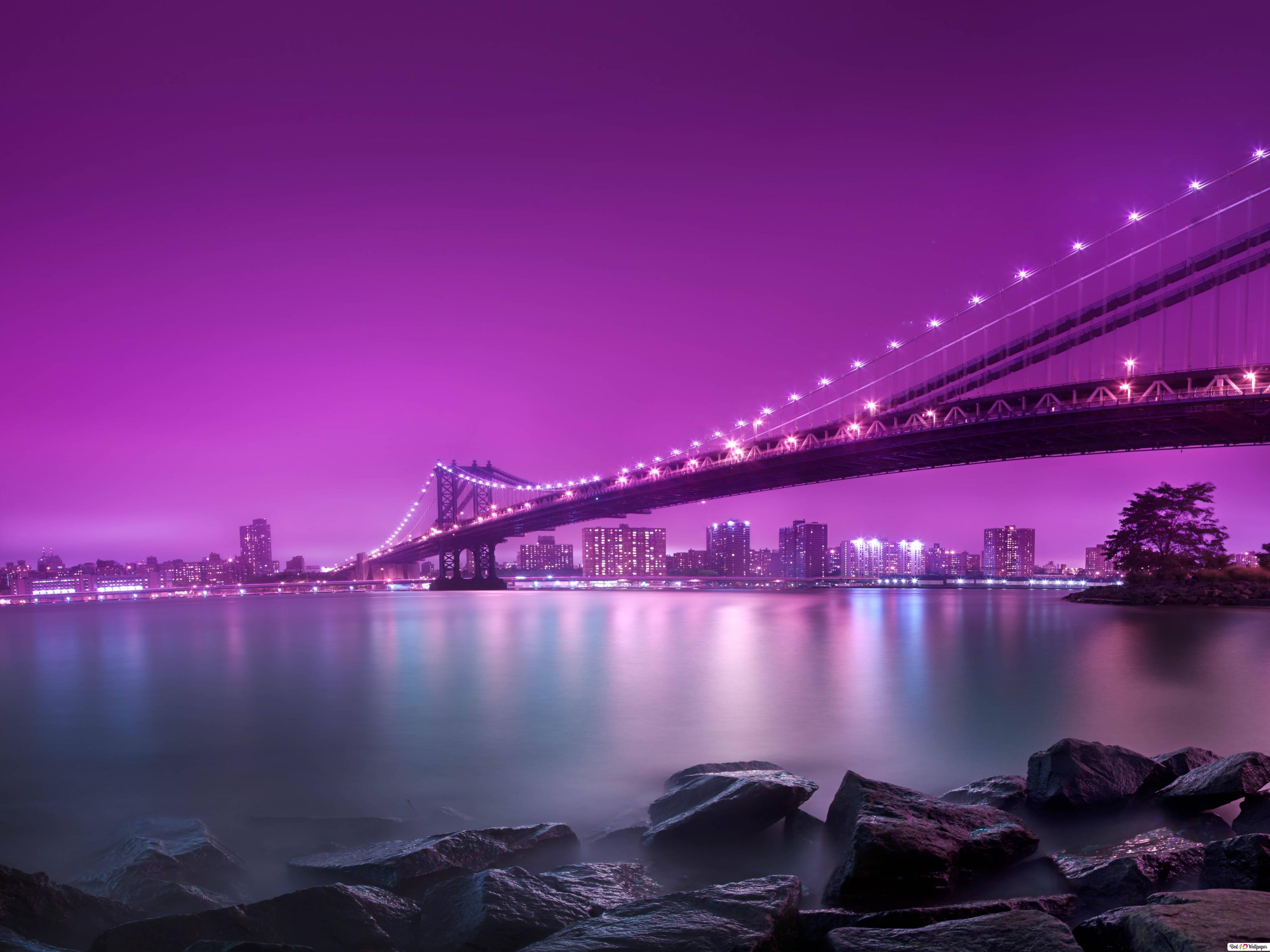 Manhattan Bridge HD Wallpaper Download