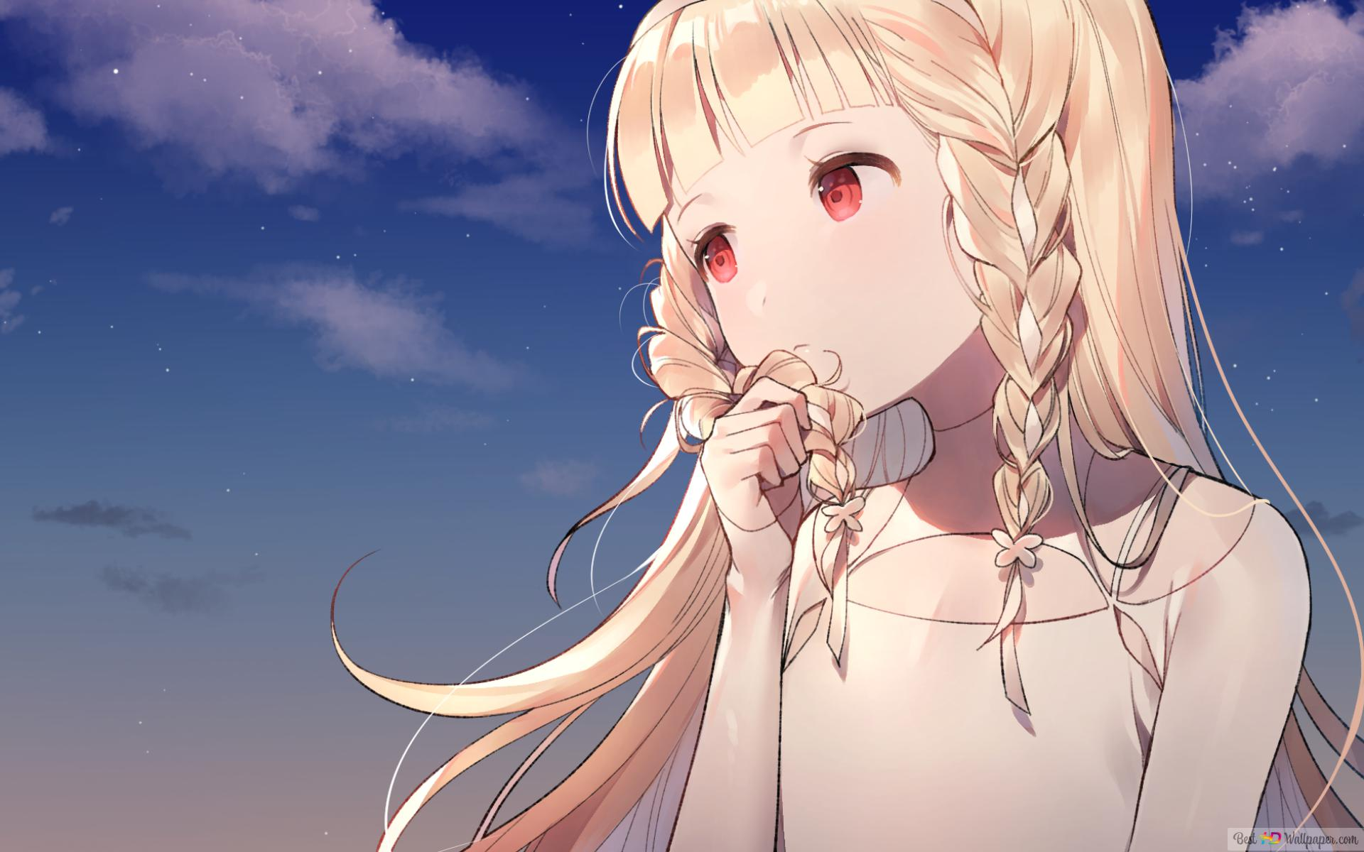 Maquia When The Promised Flowers Blooms Hd Wallpaper Download