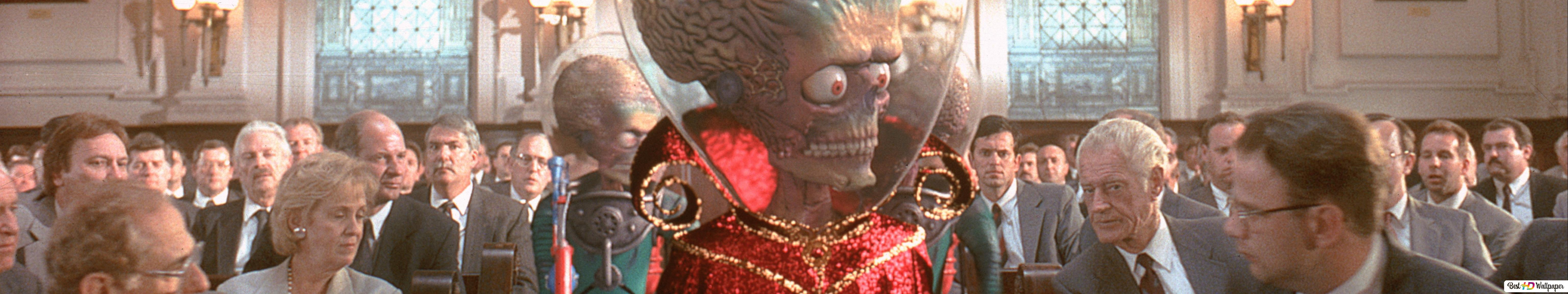 Descargar Fondo De Pantalla Mars Attacks Hd