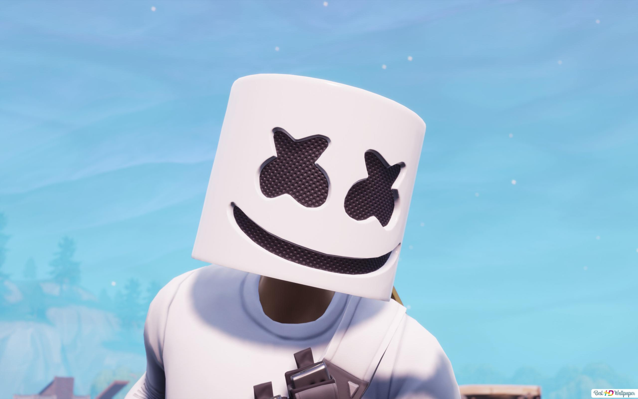 Marshmello In Fortnite Online Video Game Hd Wallpaper Download