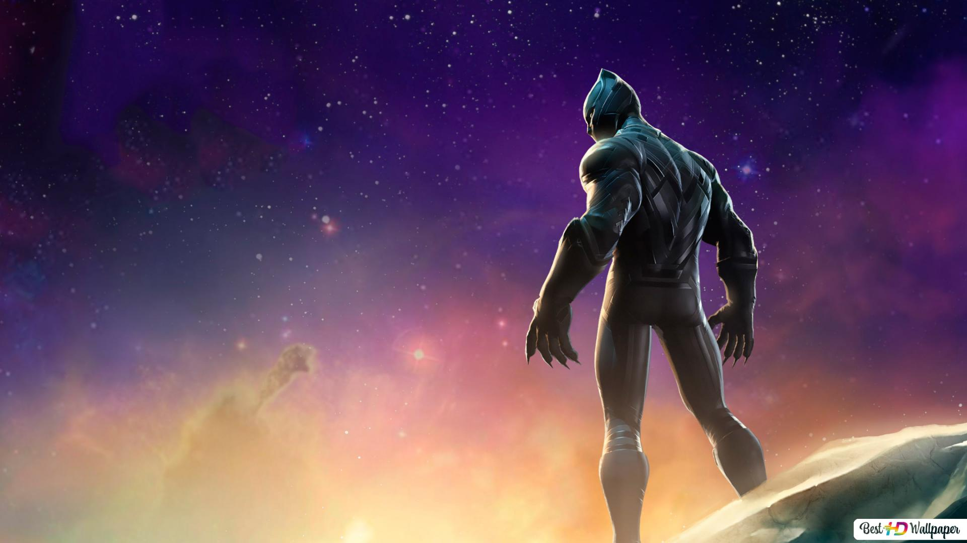 Marvel Contest Of Champions Black Panther Hd Wallpaper Download