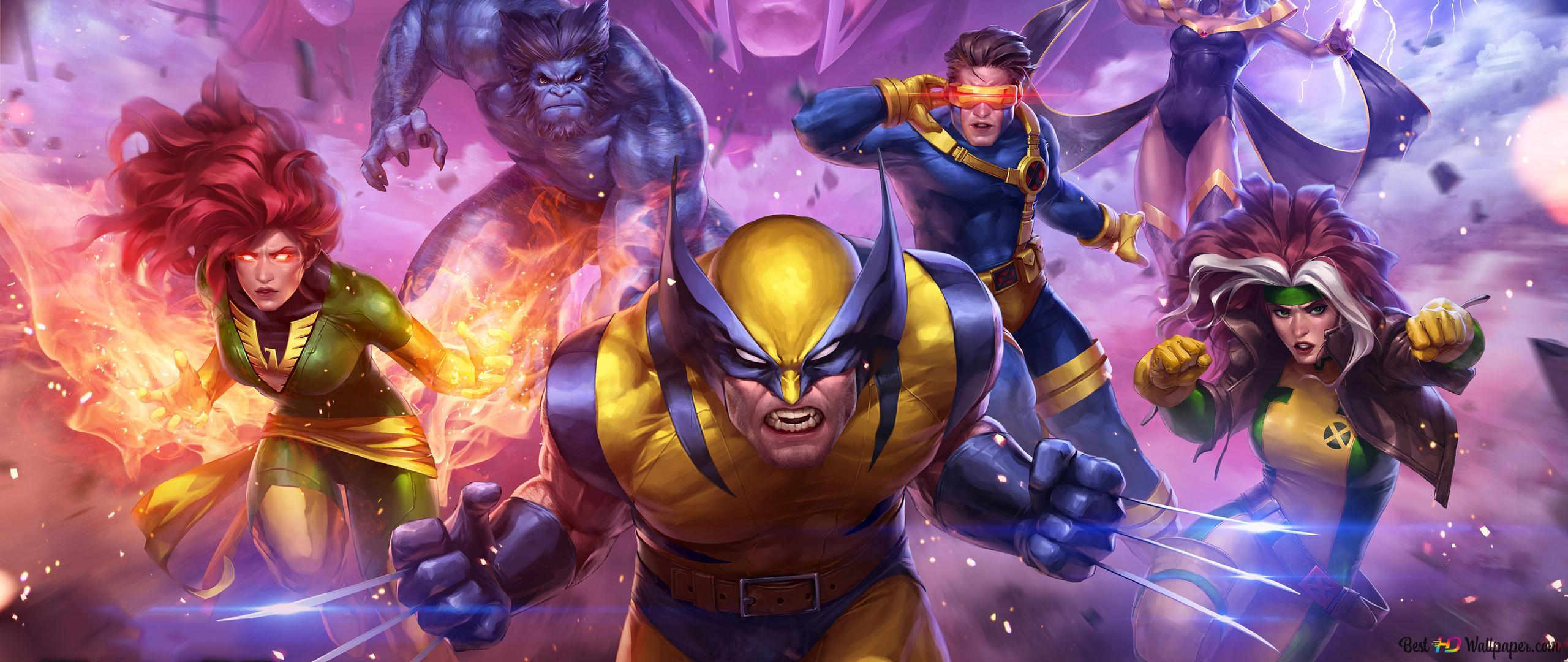 Marvel Contest Of Champions X Men Heroes Hd Wallpaper Download