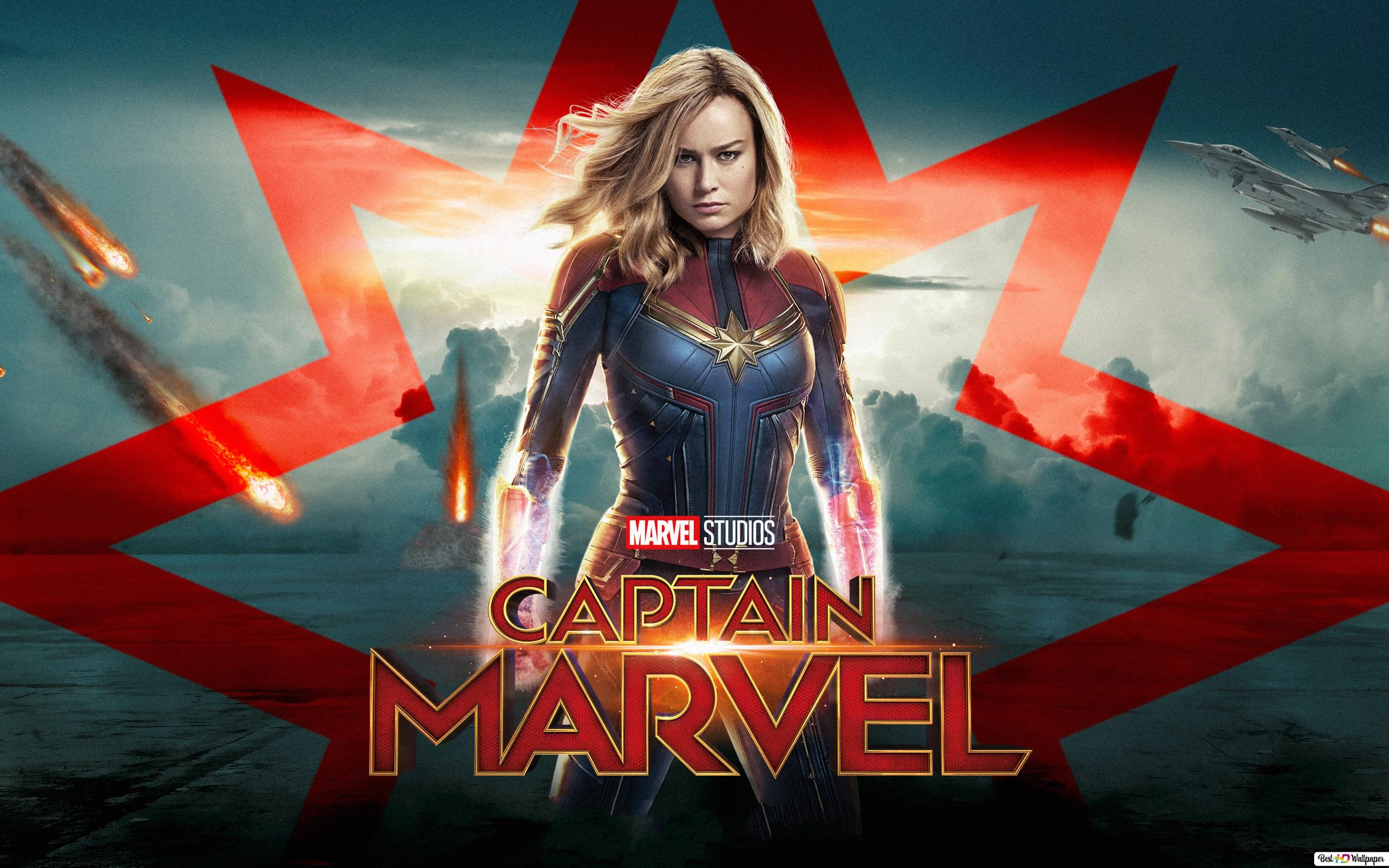 Marvel Studios Captain Marvel Hd Wallpaper Download