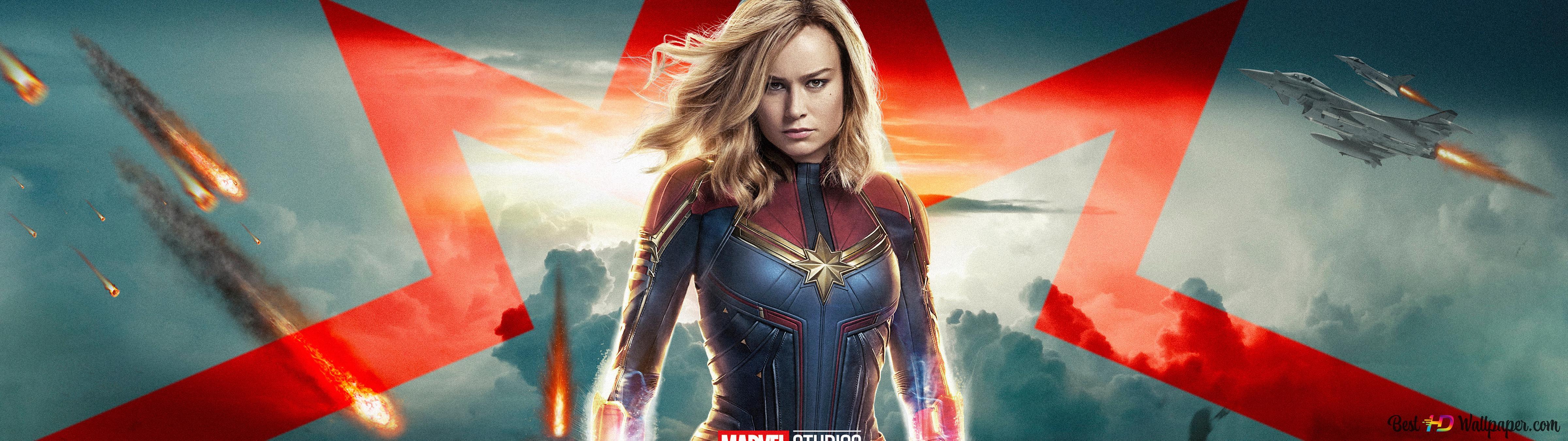 Marvel Studios Captain Marvel Hd Wallpaper Download