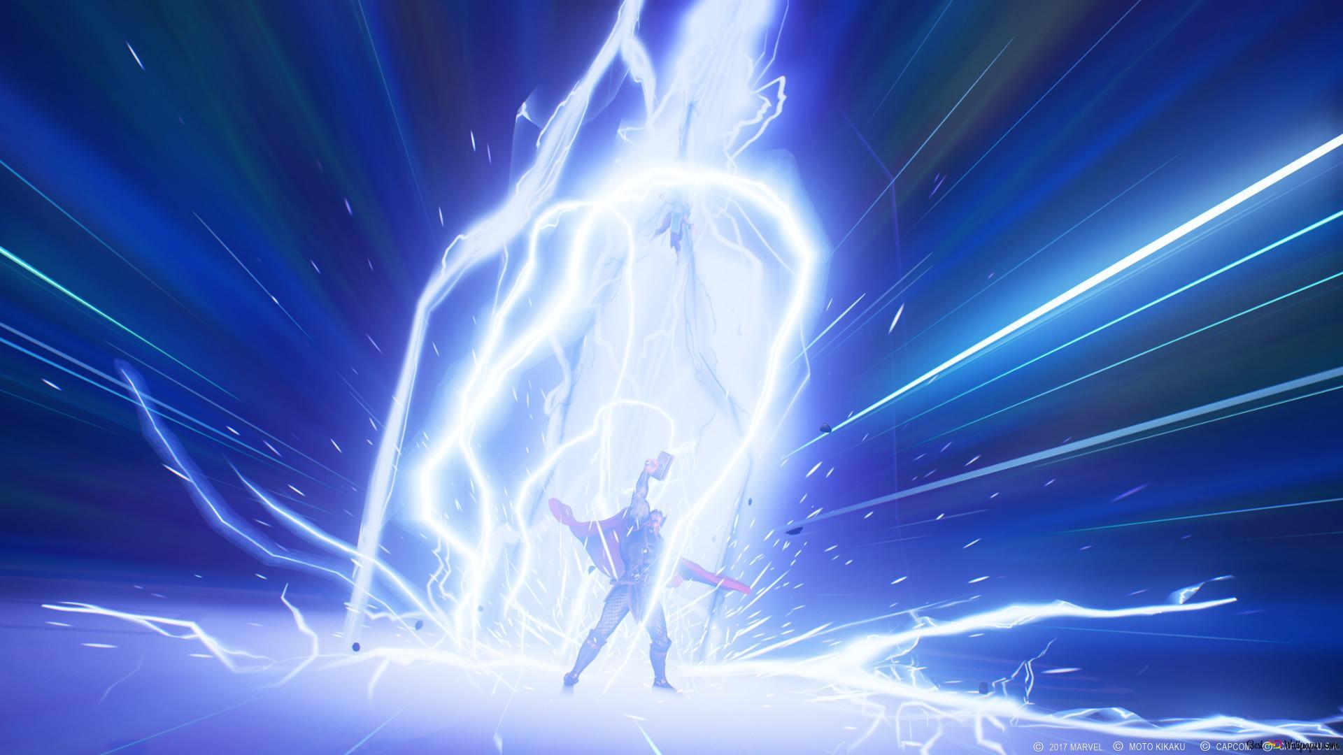 Marvel Vs Capcom Infinite Thor Hd Wallpaper Download