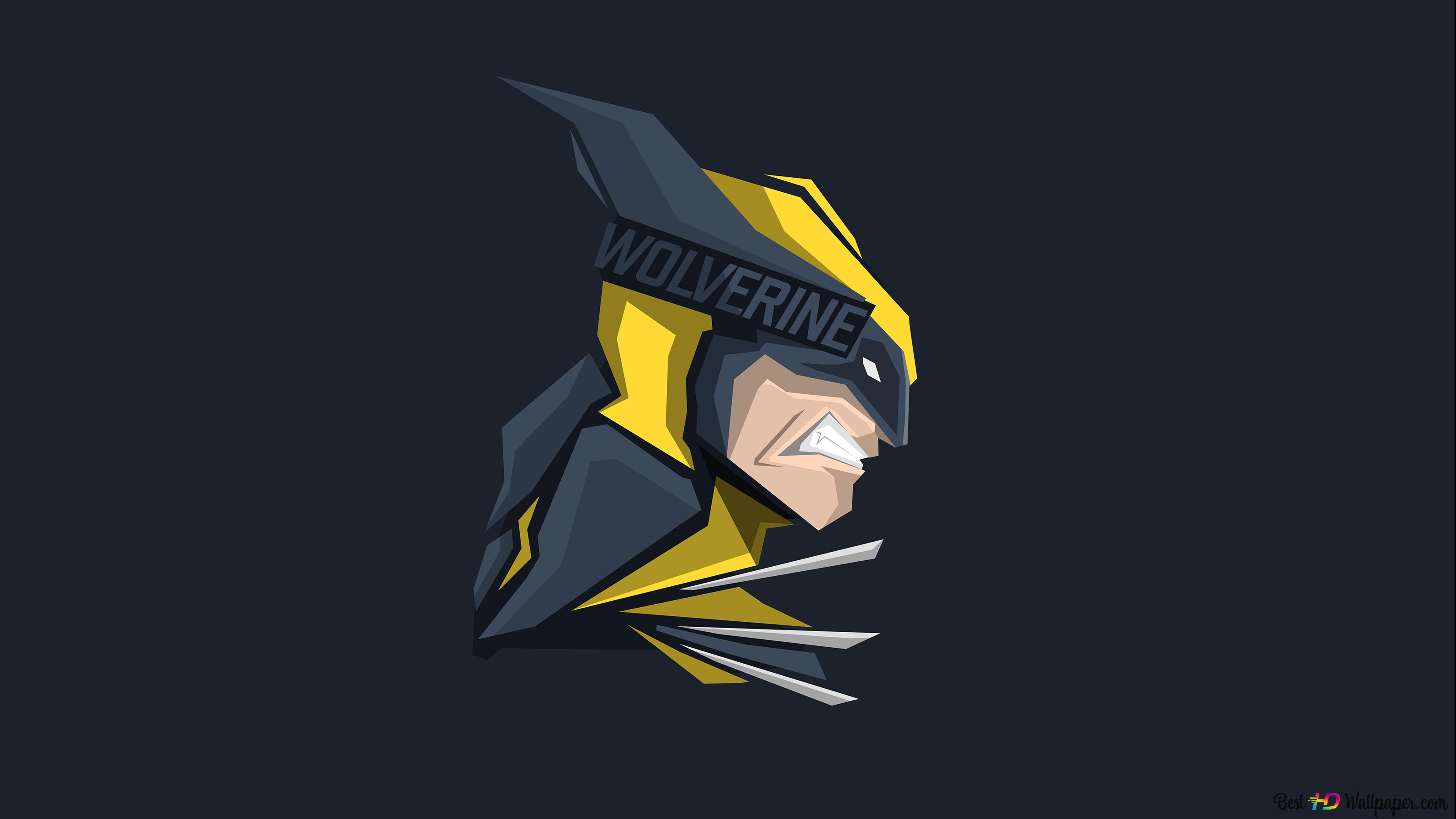 Marvel X Men Wolverine Minimalist Hd Wallpaper Download
