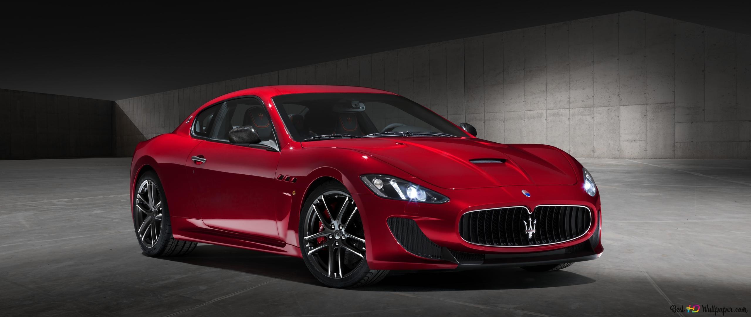 Maserati Granturismo Hd Wallpaper Download