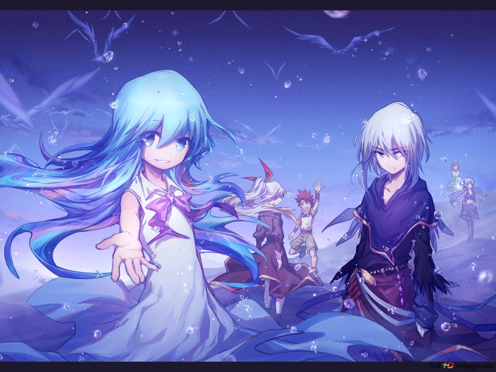 Merc Storia Anime Hd Wallpaper Download