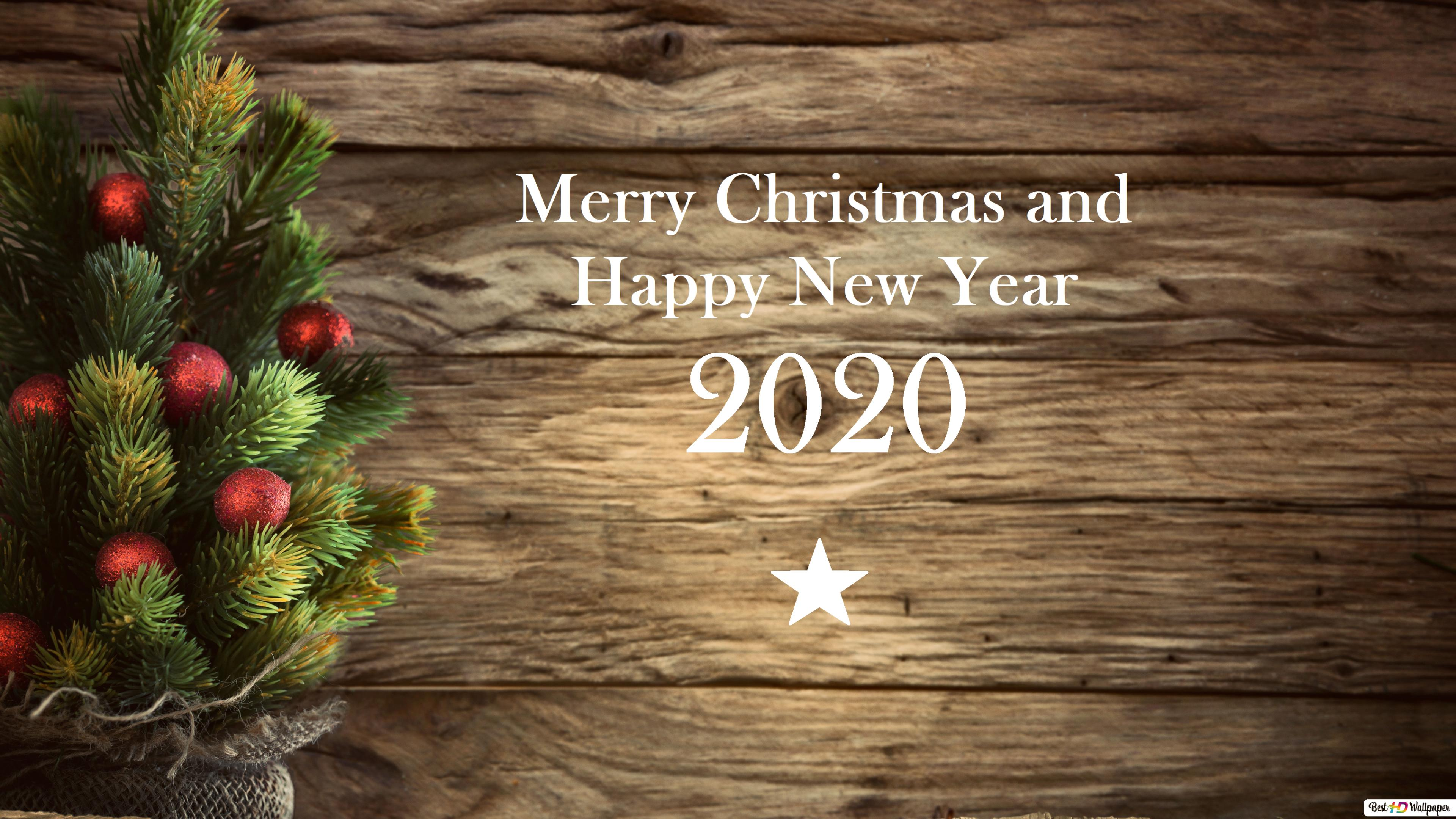 2021 Happy Merry Christmas And Happy New Year Wallpaper Lake Up In Mountain Merry Xmas Happy New Year 2020 Hd Wallpaper Download