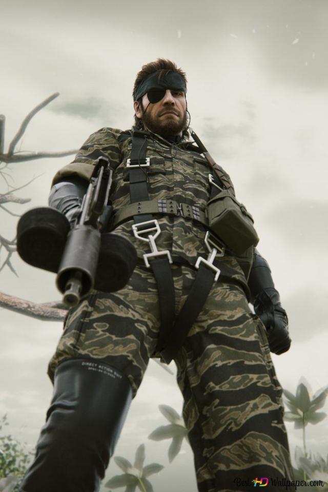 Metal Gear Solid 3 Snake Eater Naked Snake Hd Wallpaper Download