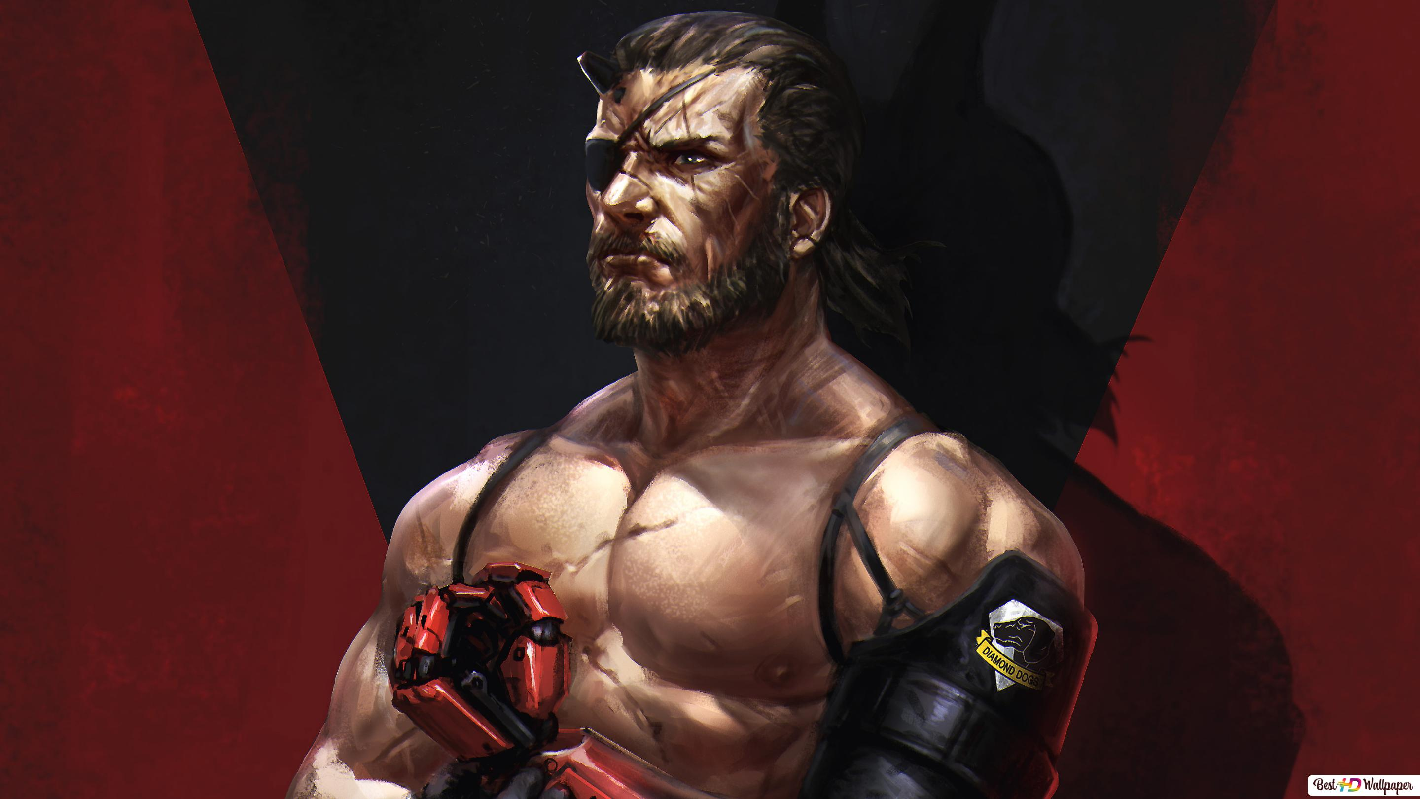 Metal Gear Solid V The Phantom Pain Venom Snake Digital Art