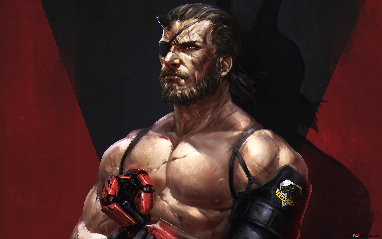 Metal Gear Solid V The Phantom Pain Venom Snake Digital Art