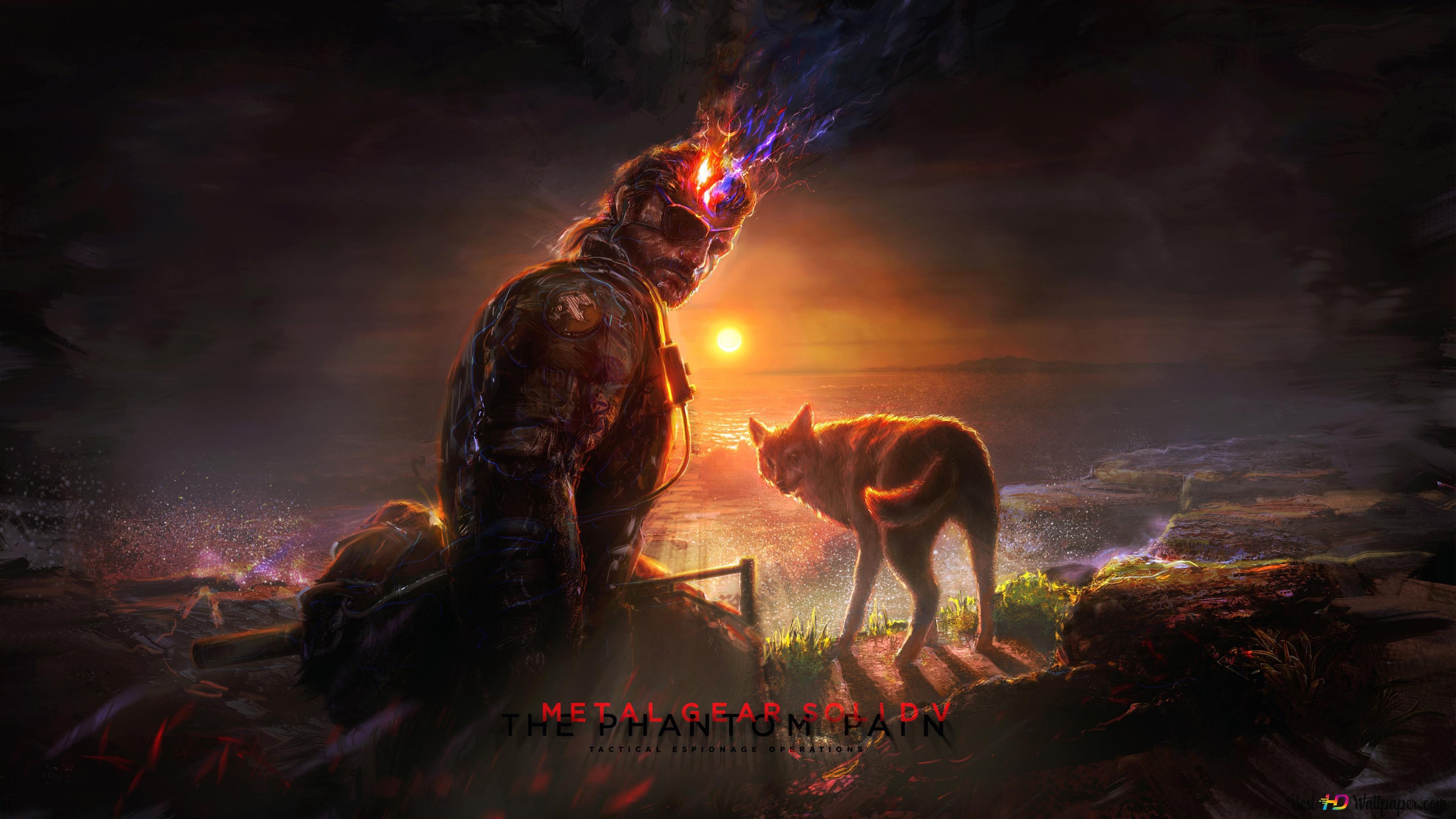 Metal Gear Solid V The Phantom Pain Hd Wallpaper Download