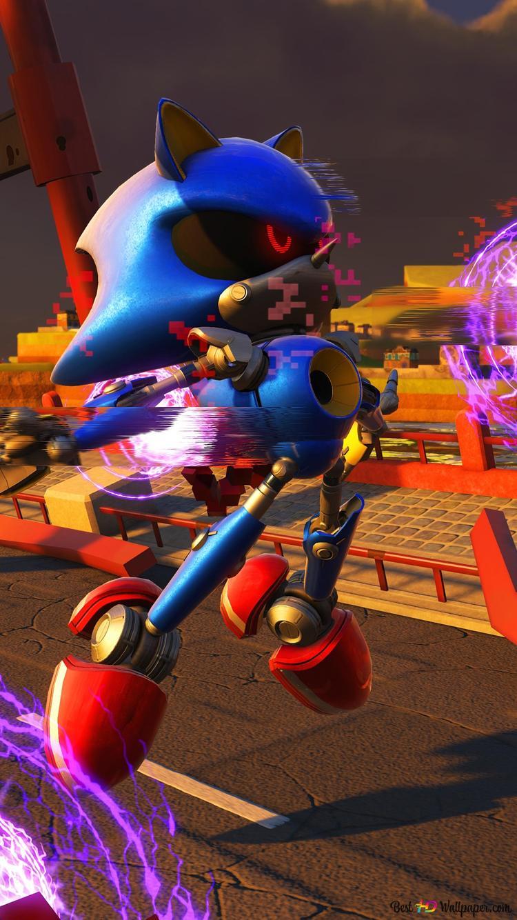 Metal Sonic Hedgehog Hd Wallpaper Download