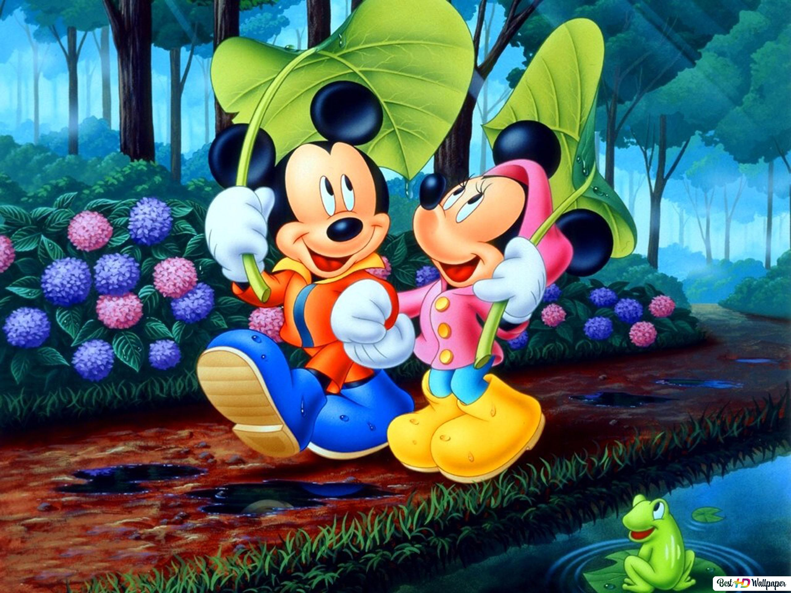 Mickey Mouse Cartoon Hd Wallpaper Download