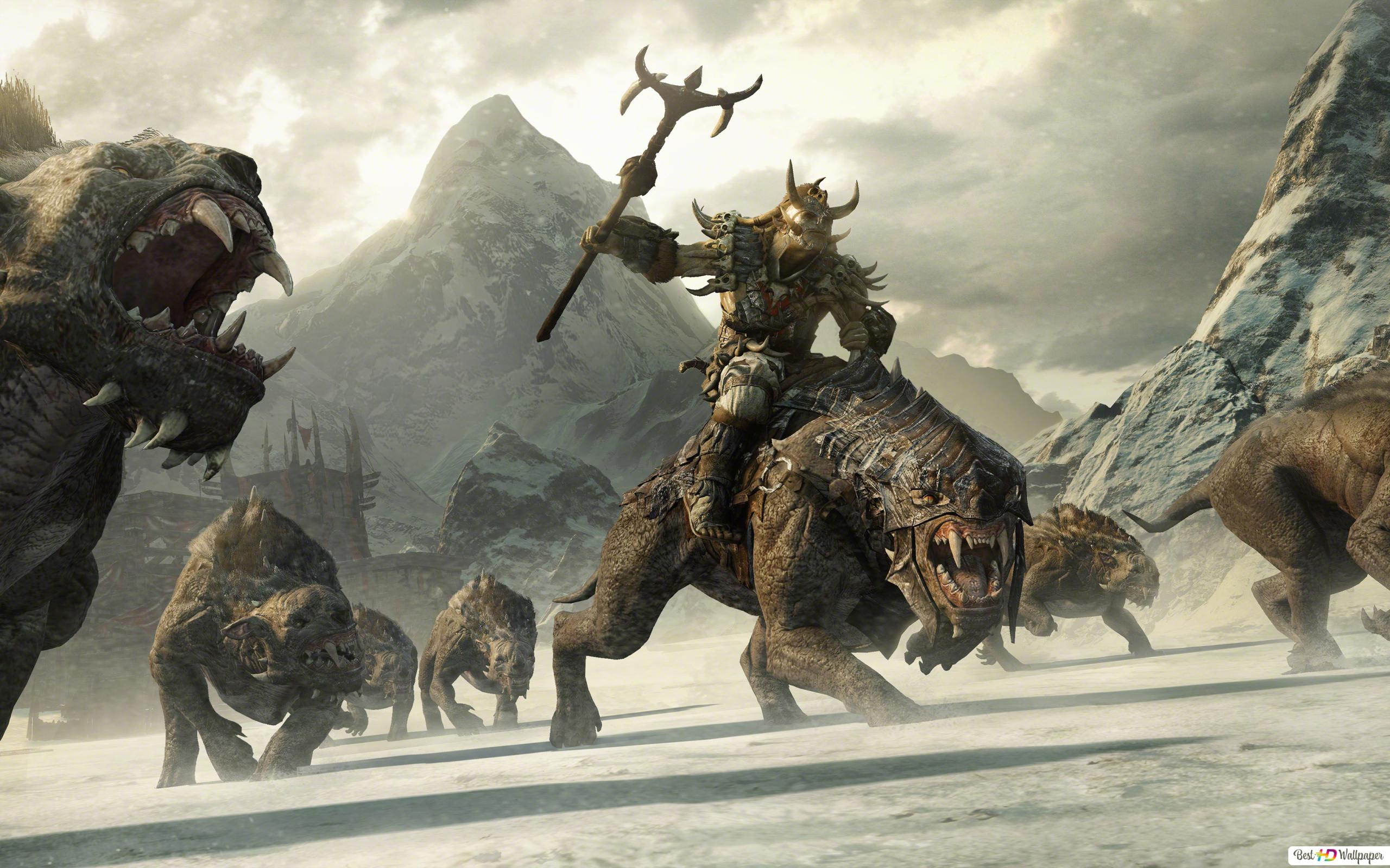 Middle Earth Shadow Of War Hd Wallpaper Download