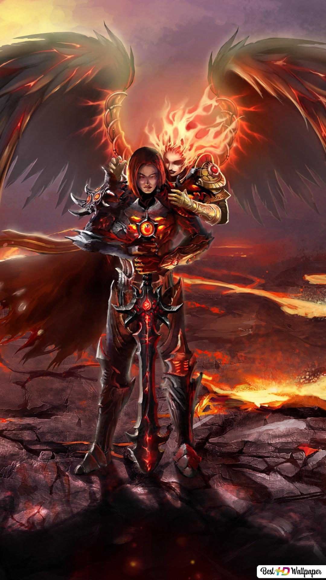 Might Magic Heroes 6 Inferno Hd Wallpaper Download