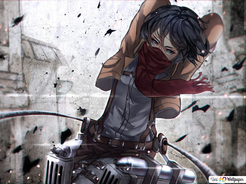 Mikasa Ackerman Attack On Titan Hd Wallpaper Download