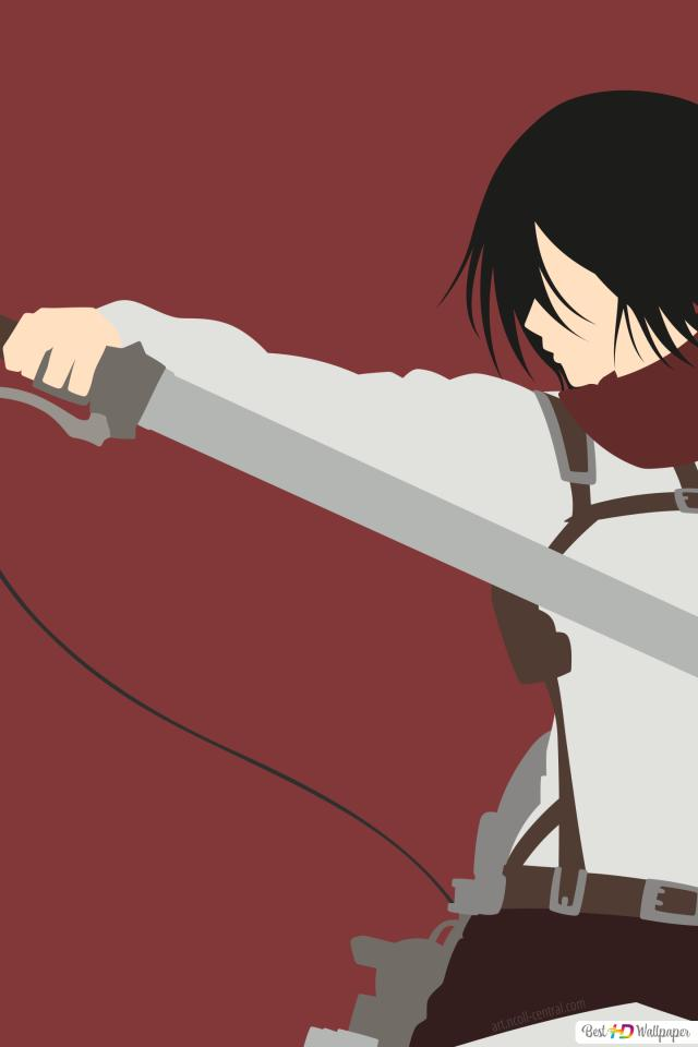 Mikasa Ackerman Of Attack Of Titan Hd Wallpaper Download