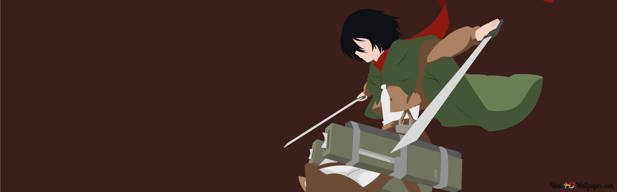 Mikasa Ackerman Hd Wallpaper Download