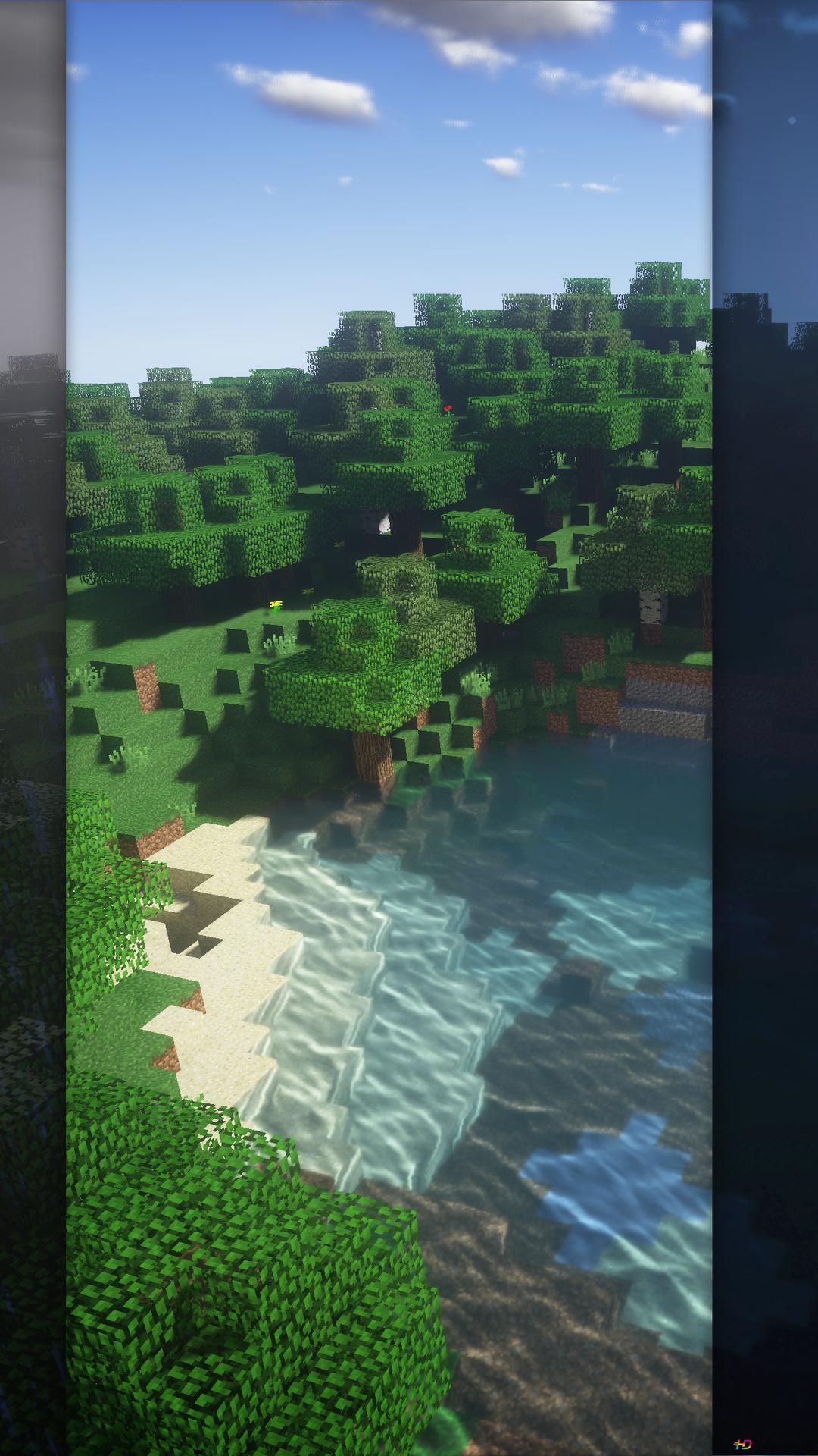 Fond D écran Minecraft Iphone