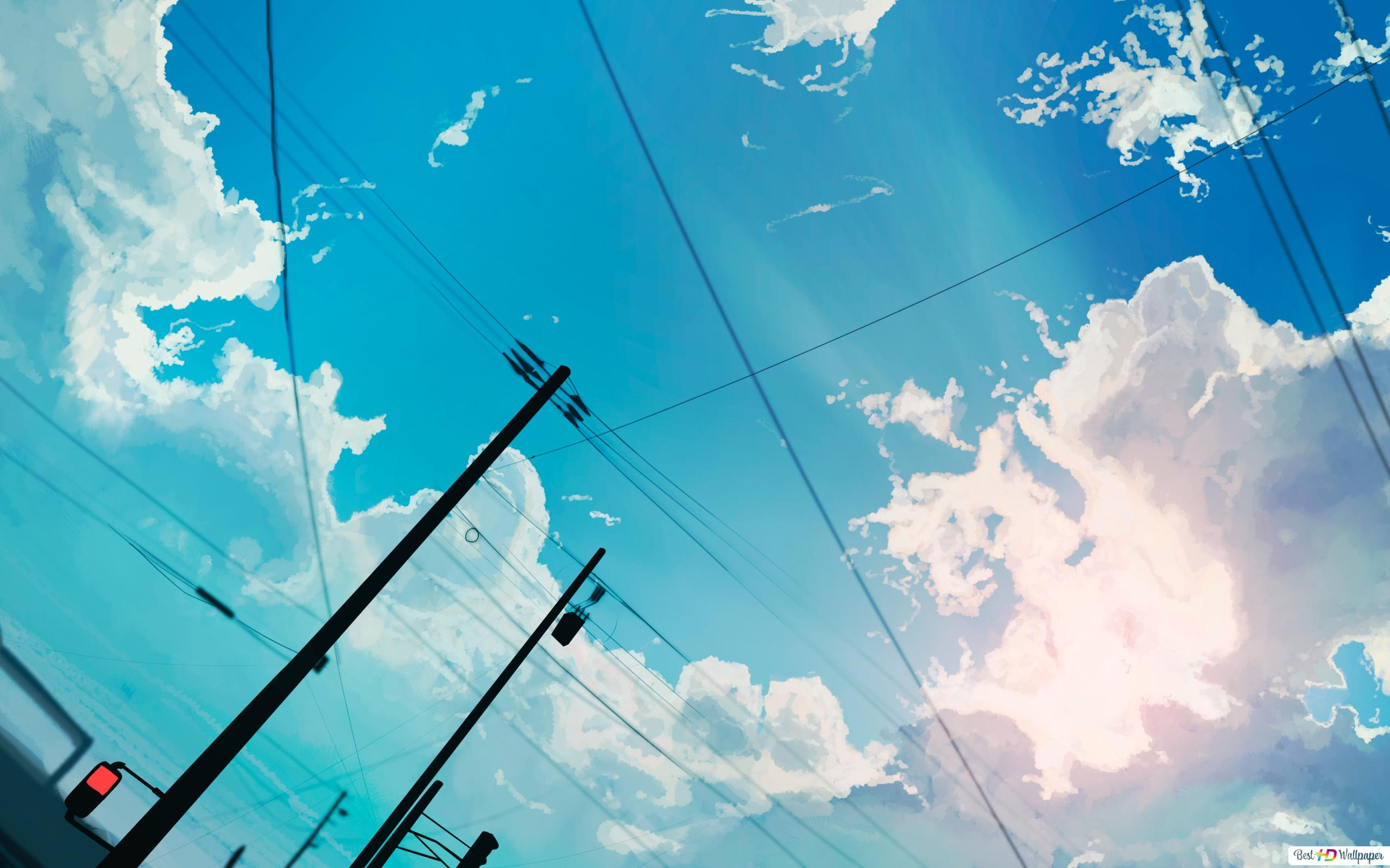 明るい青空 Hd壁紙のダウンロード