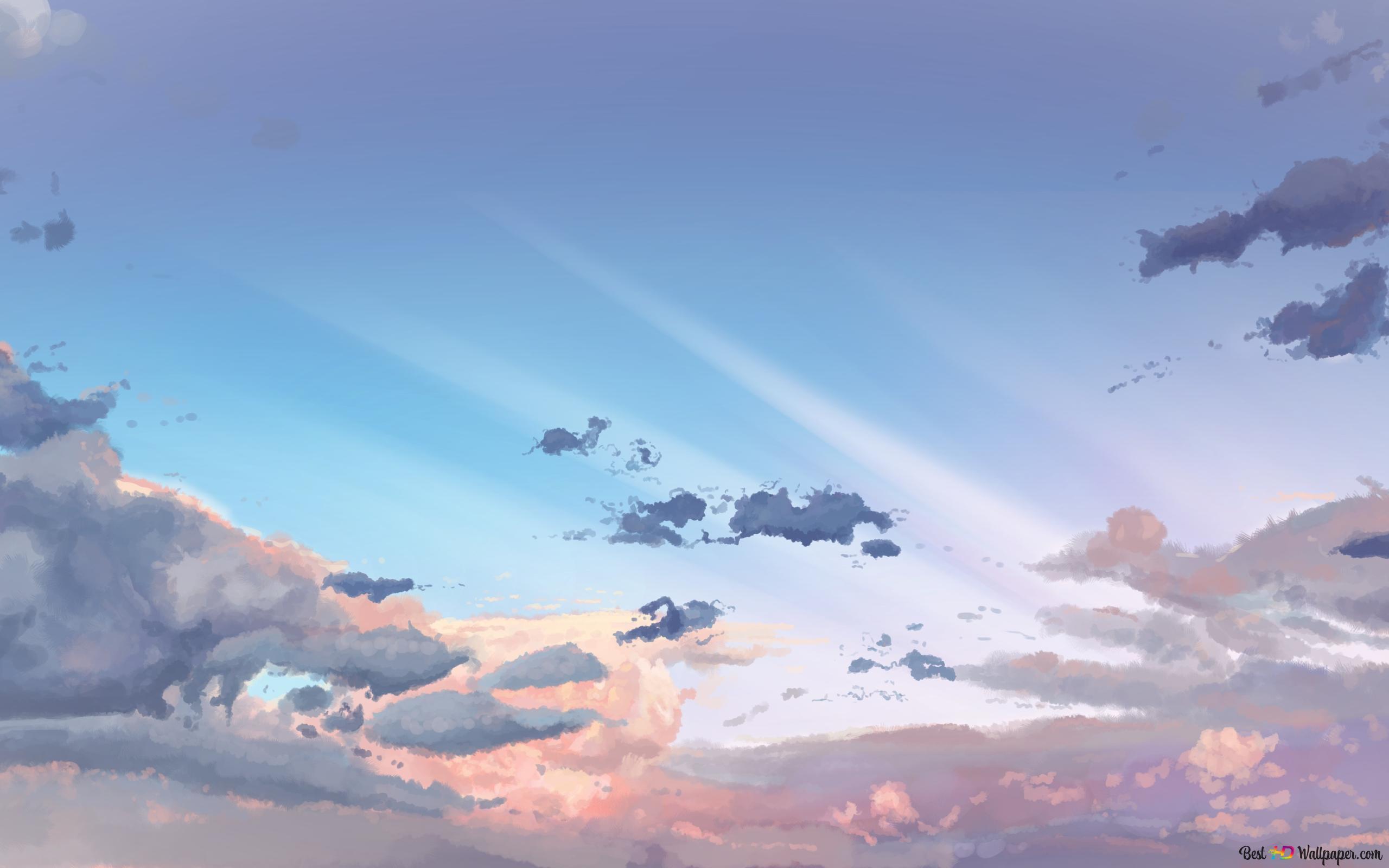 明るい雲 Hd壁紙のダウンロード