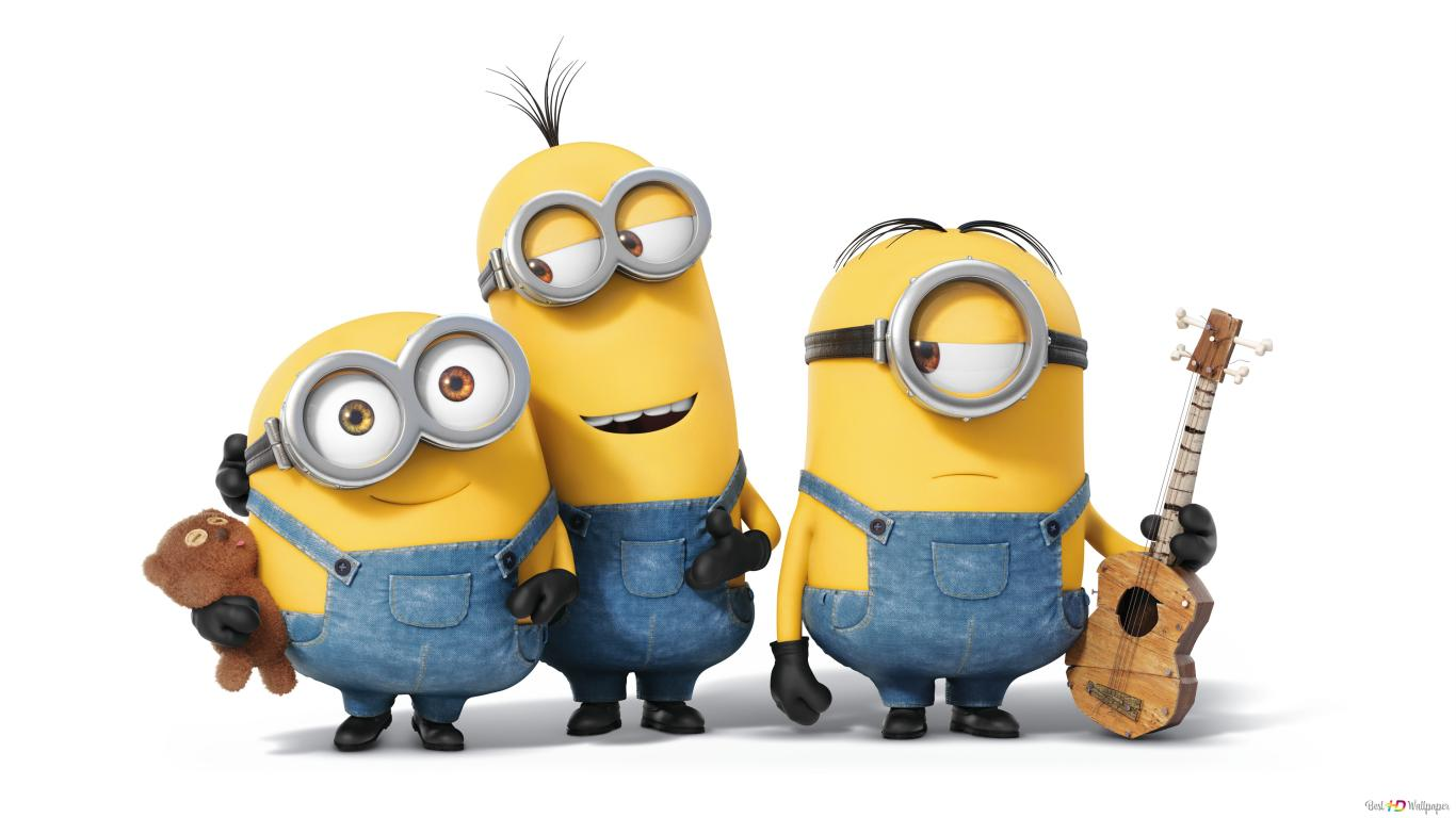 Minions Movie Kevinbobstuart Hd Wallpaper Download