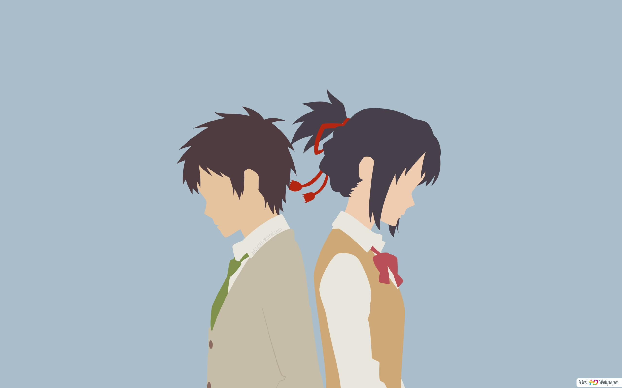 Mitsuha And Taki Of Your Name Hd Wallpaper Download