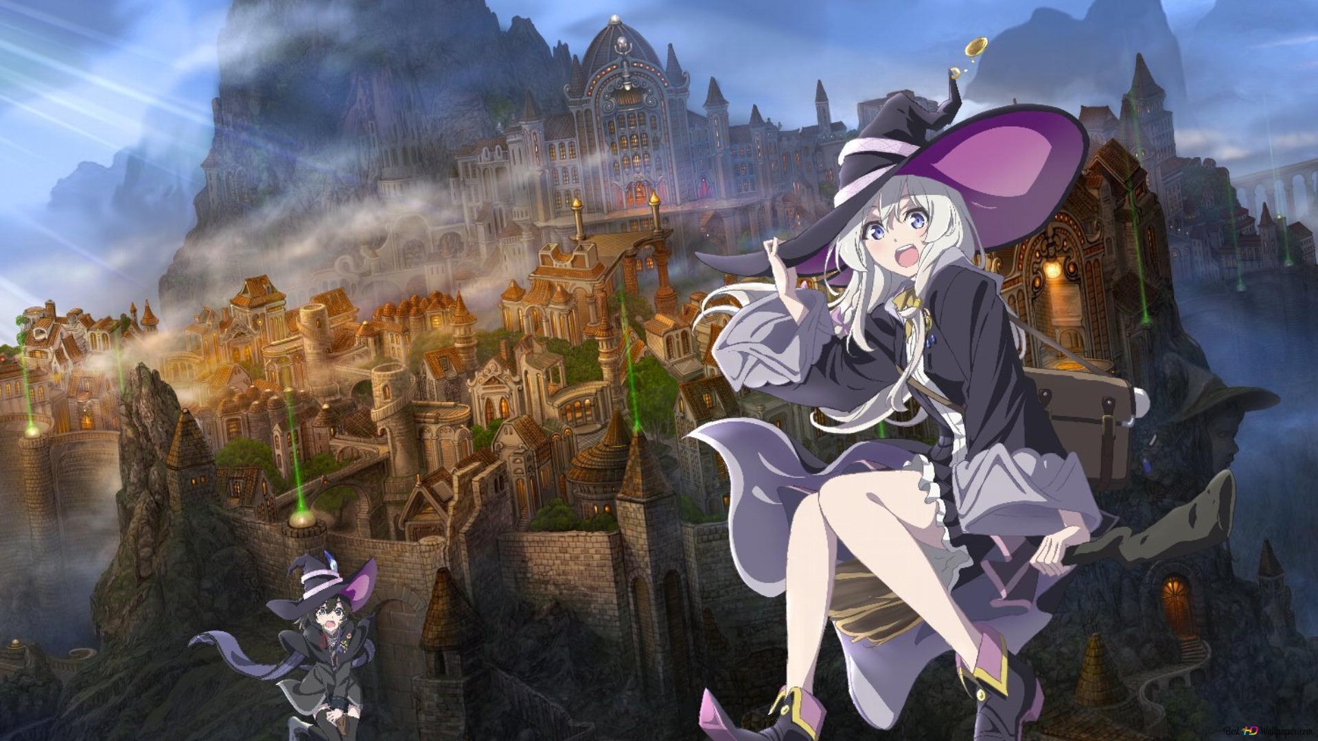 魔女の旅々アニメ Hd壁紙のダウンロード