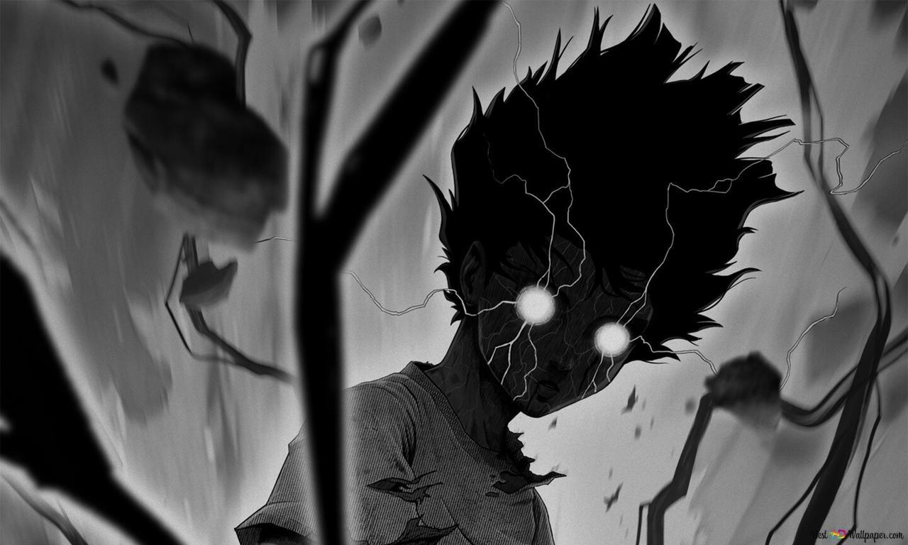 Mob Psycho 100 Shigeo Kageyama White T Poison Hd