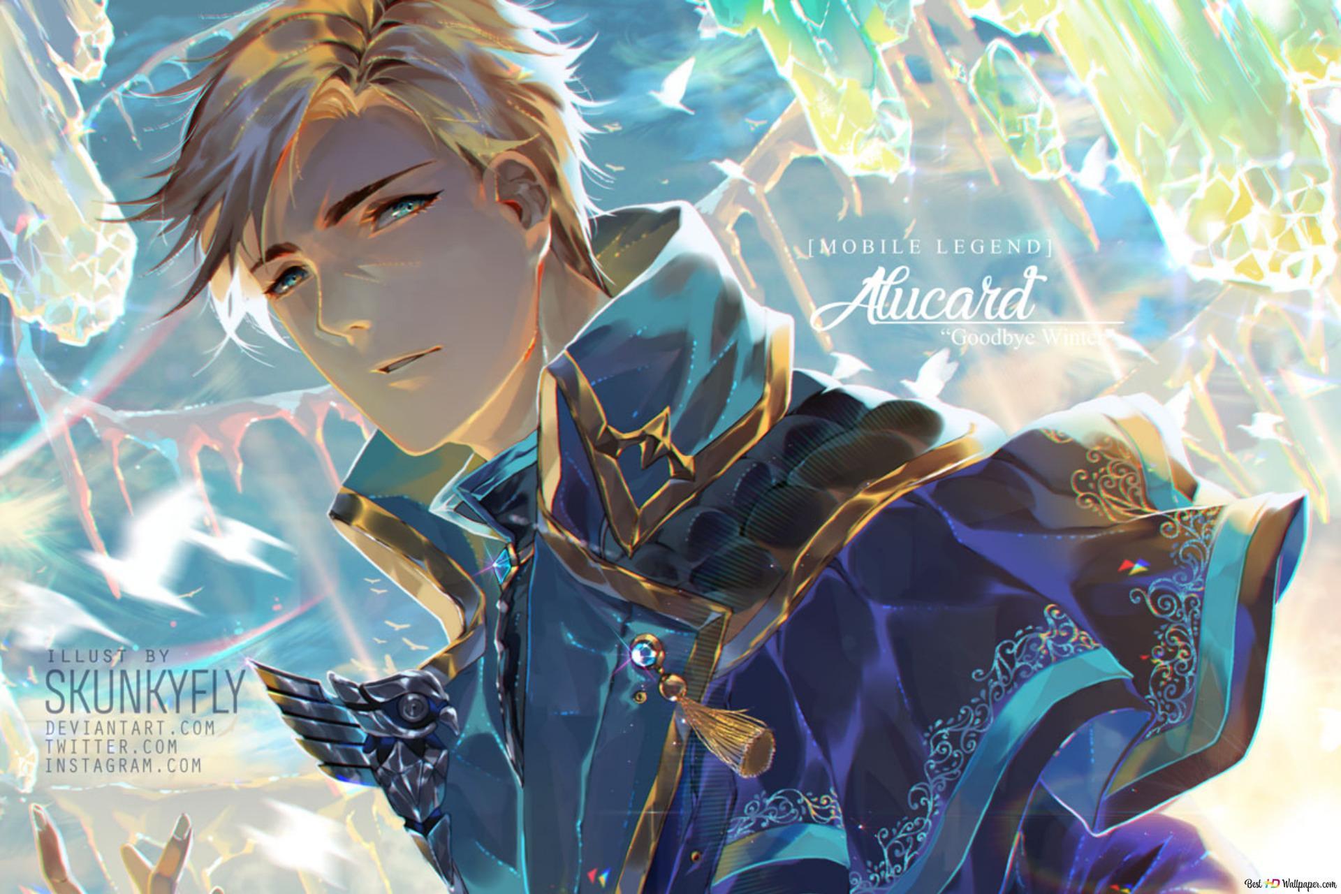 Mobile Legends Alucard HD Wallpaper