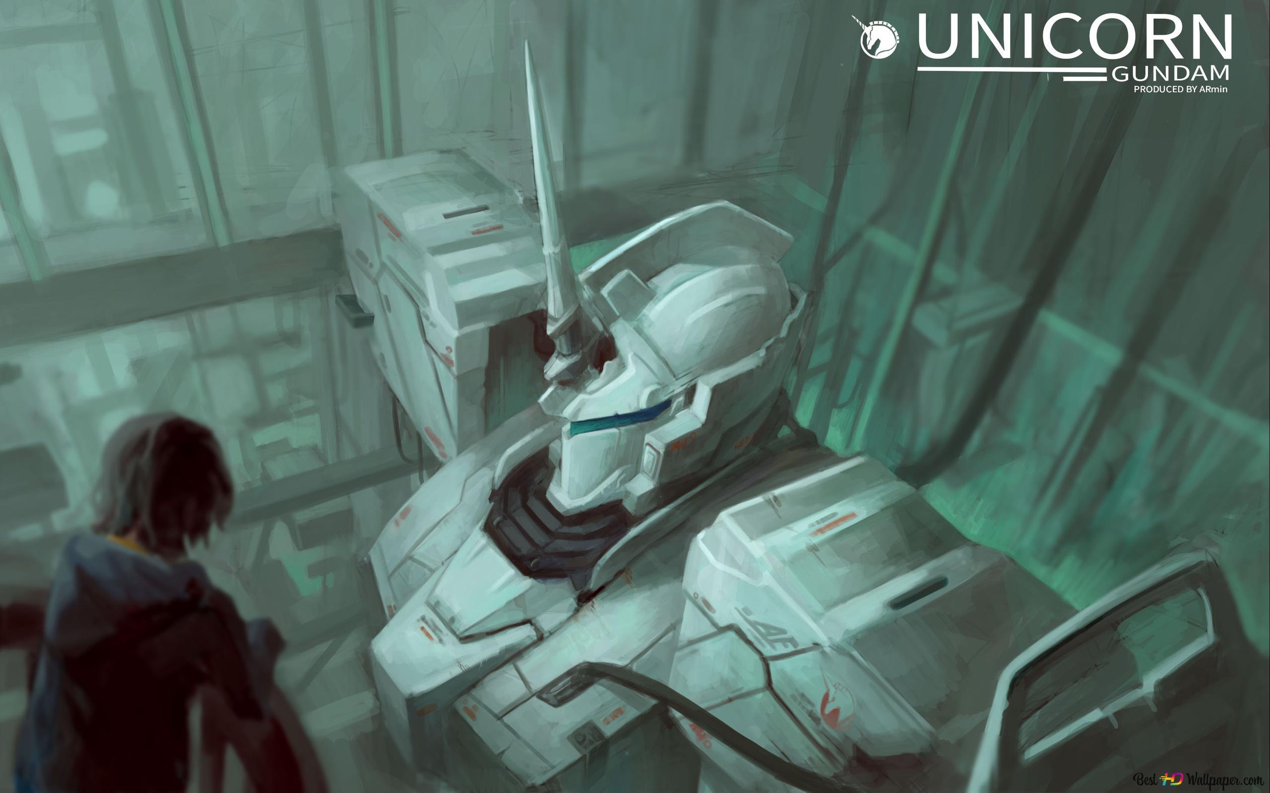 Mobile Suit Gundam Unicorn Hd Wallpaper Download