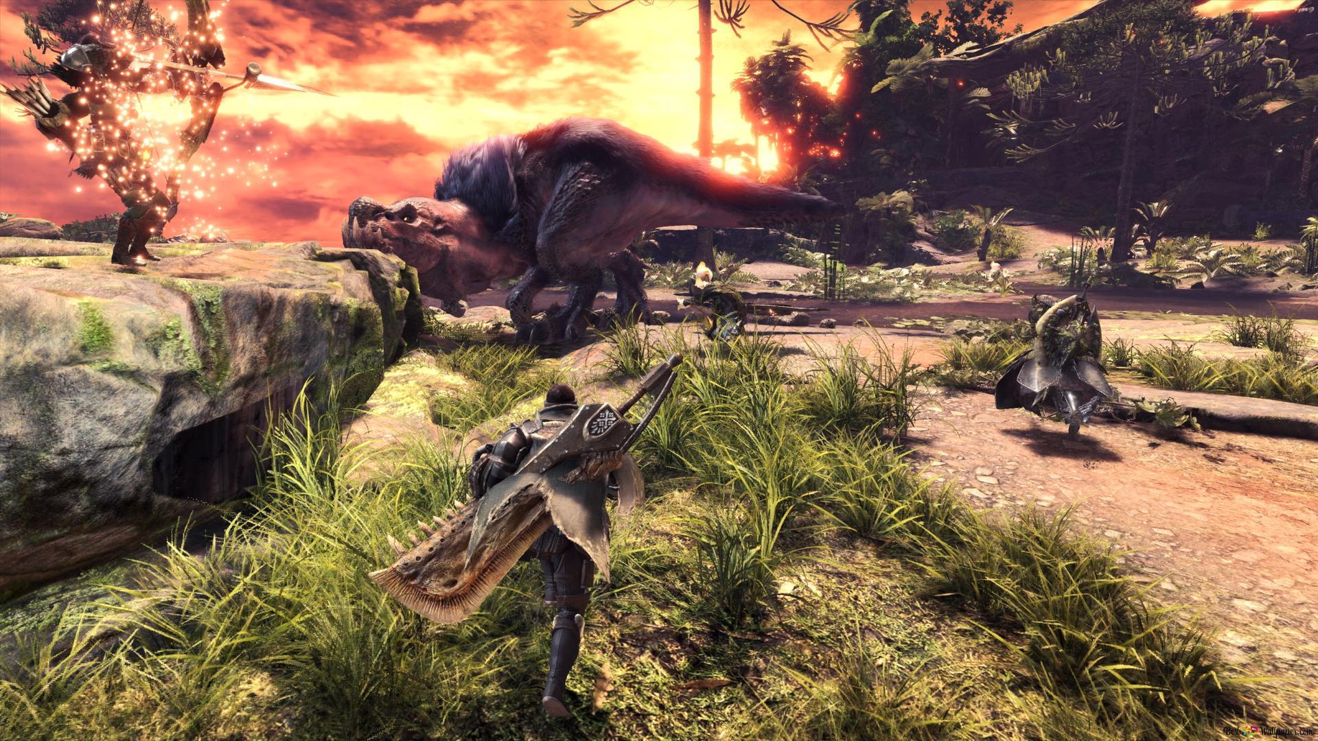 Monster Hunter World Hd Wallpaper Download