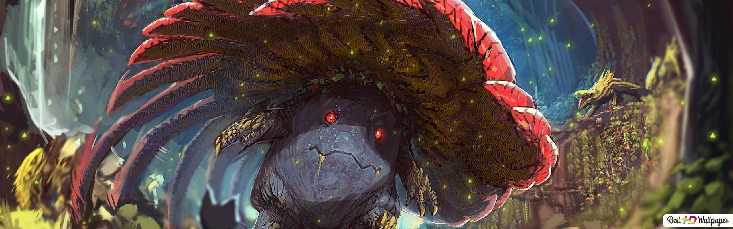 Monster Hunter World X Vileplume Hd Wallpaper Download