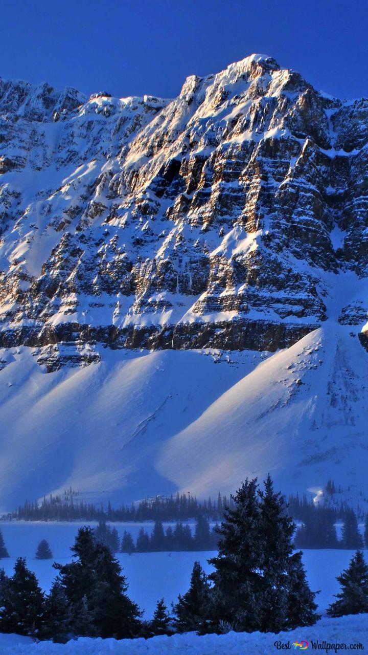 Montagnes Enneigées Hd Fond Décran Télécharger