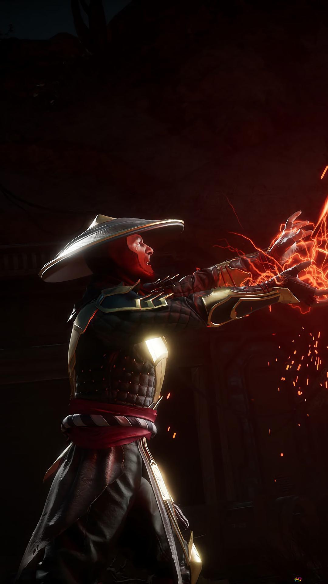 Mortal Kombat 11 Raiden Gegen Skorpions Hd