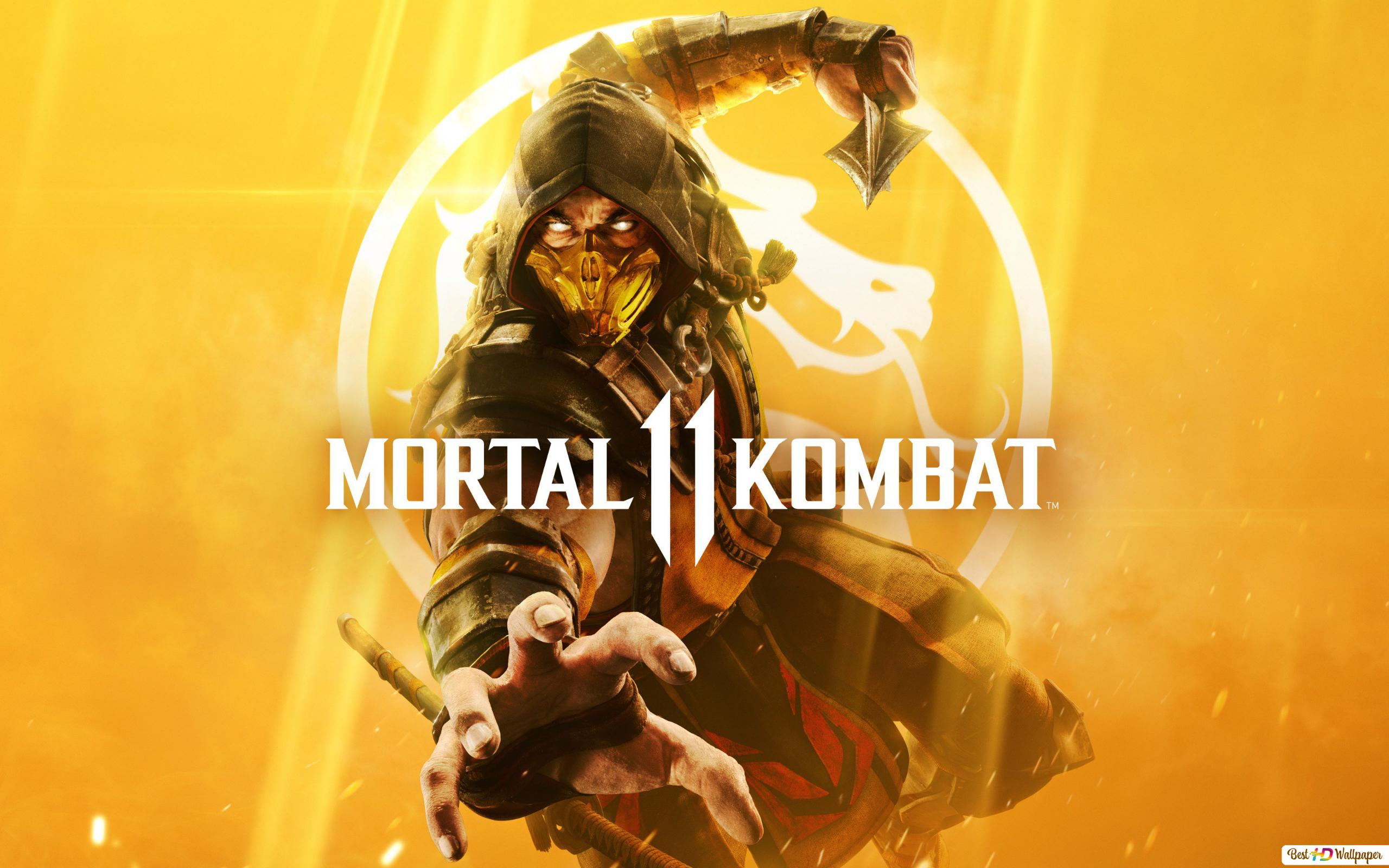 Mortal Kombat 11 Scorpion Hd Wallpaper Download