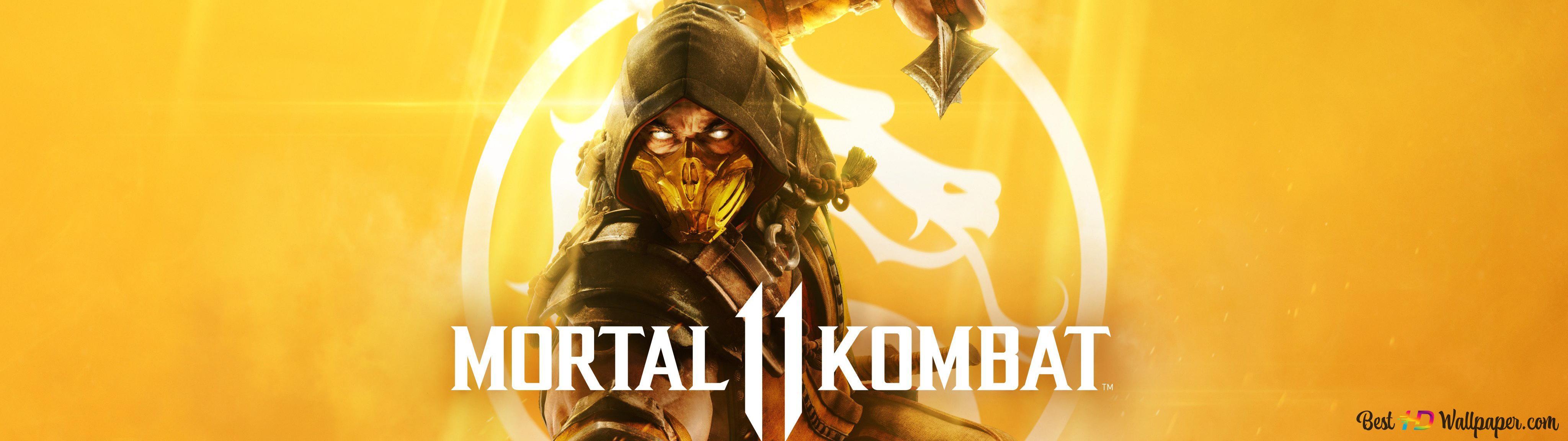 Mortal Kombat 11 Scorpion Hd Wallpaper Download