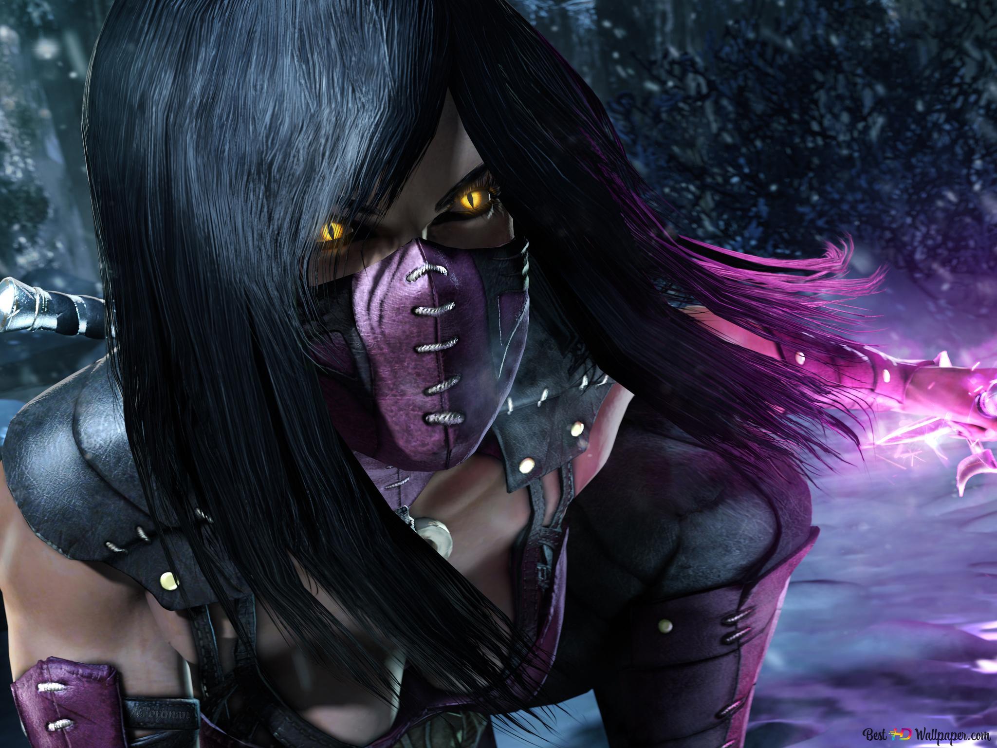 Mortal Kombat X Mileena Hd Wallpaper Download