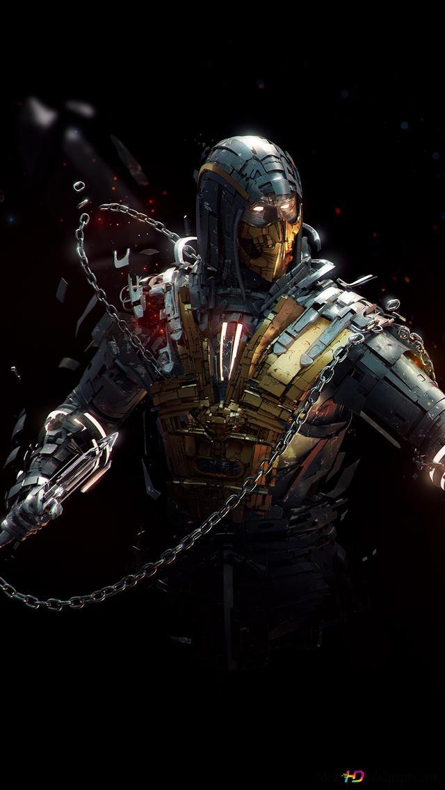Mortal Kombat X Scorpion Vs Sub Zero Hd Hintergrundbilder Herunterladen