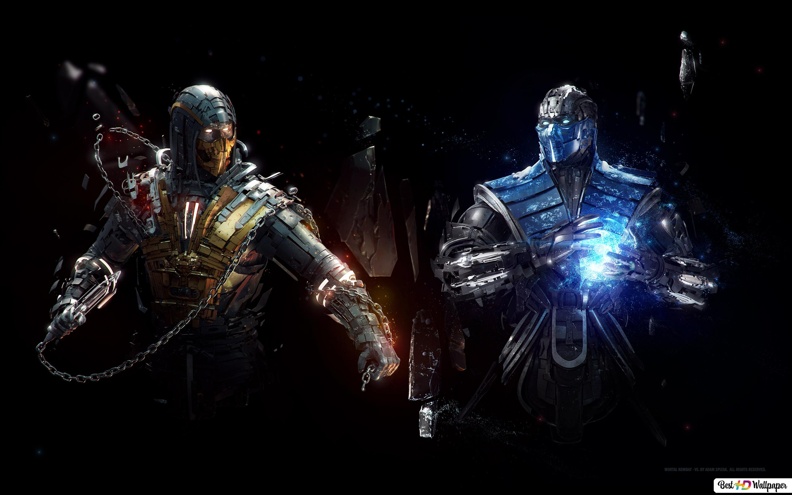 Mortal Kombat X Scorpion Vs Sub Zero Hd Wallpaper Download