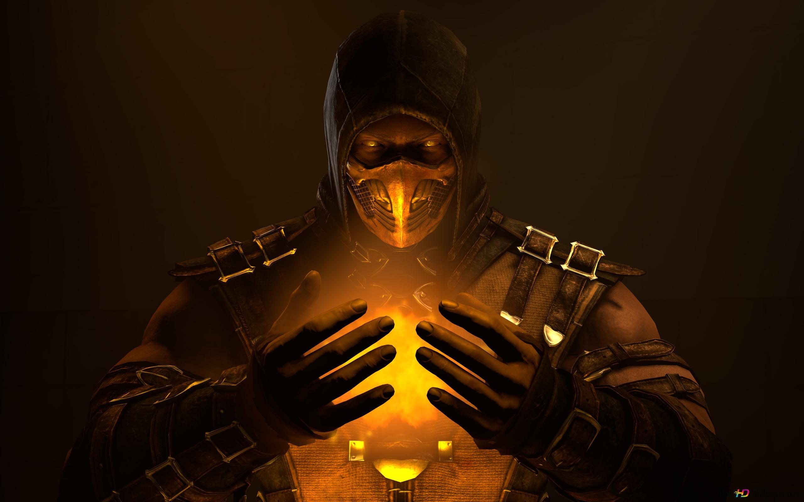 Mortal Kombat X Spüren Sie Die Energie Innere Scorpion