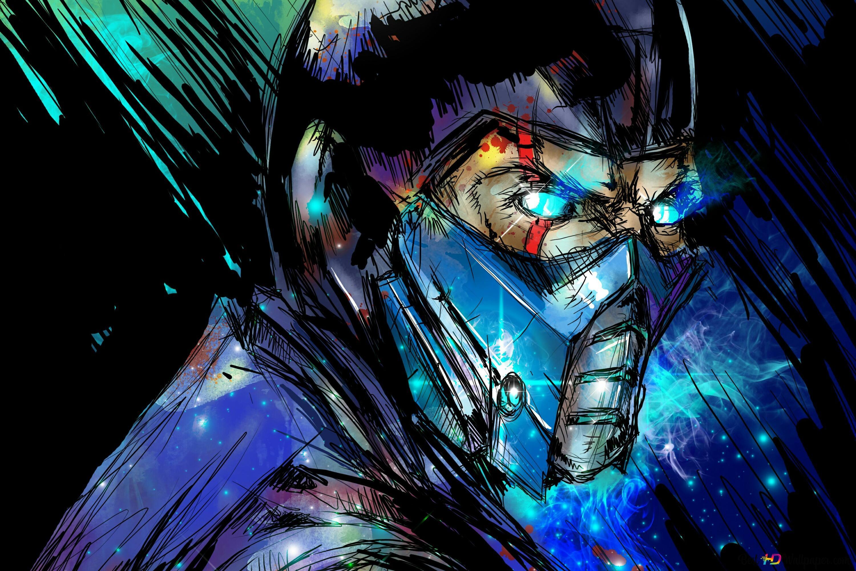 Mortal Kombat X Sub Zero Digital Art Hd Wallpaper Download